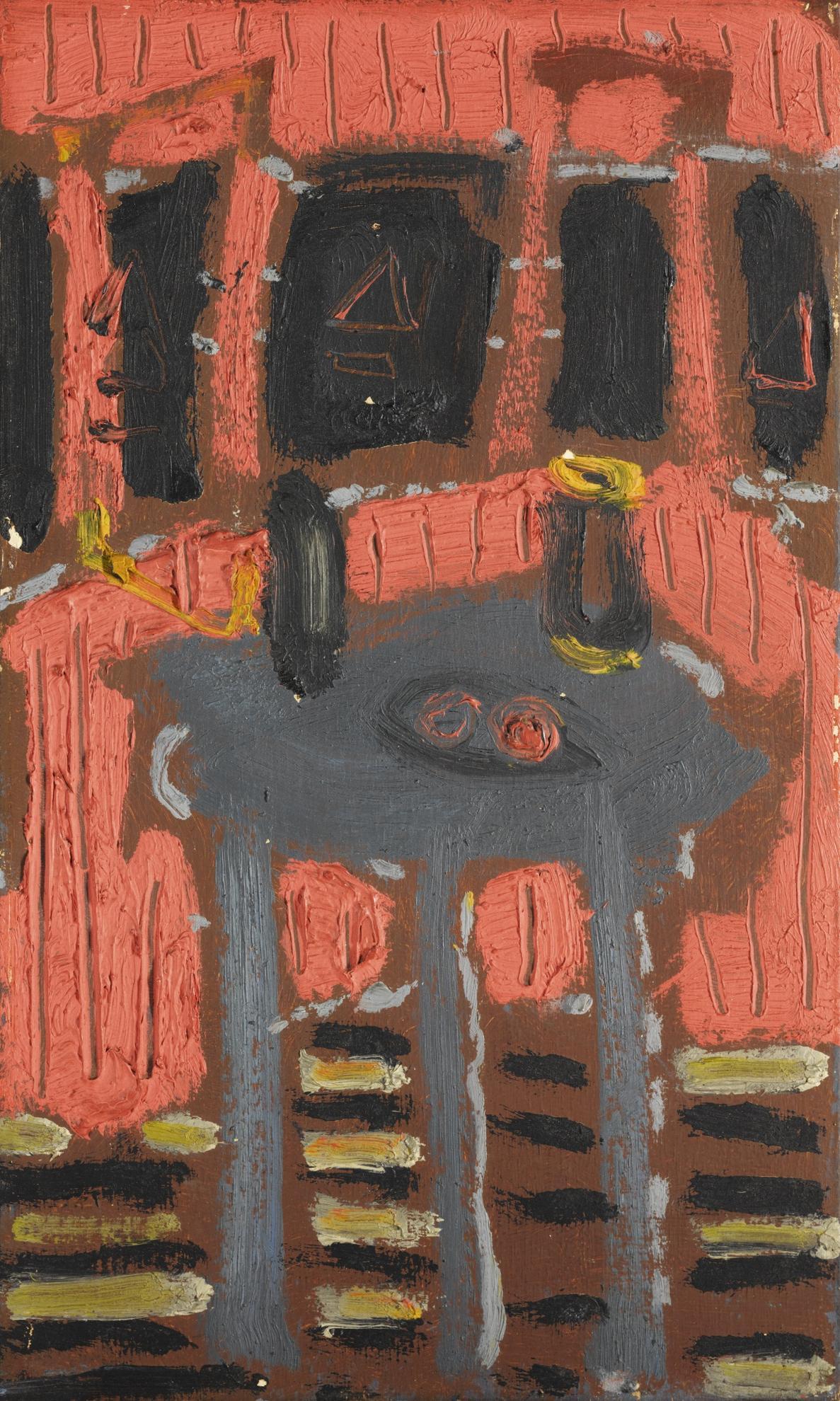 Patrick Heron-The Pink Cabin-1954