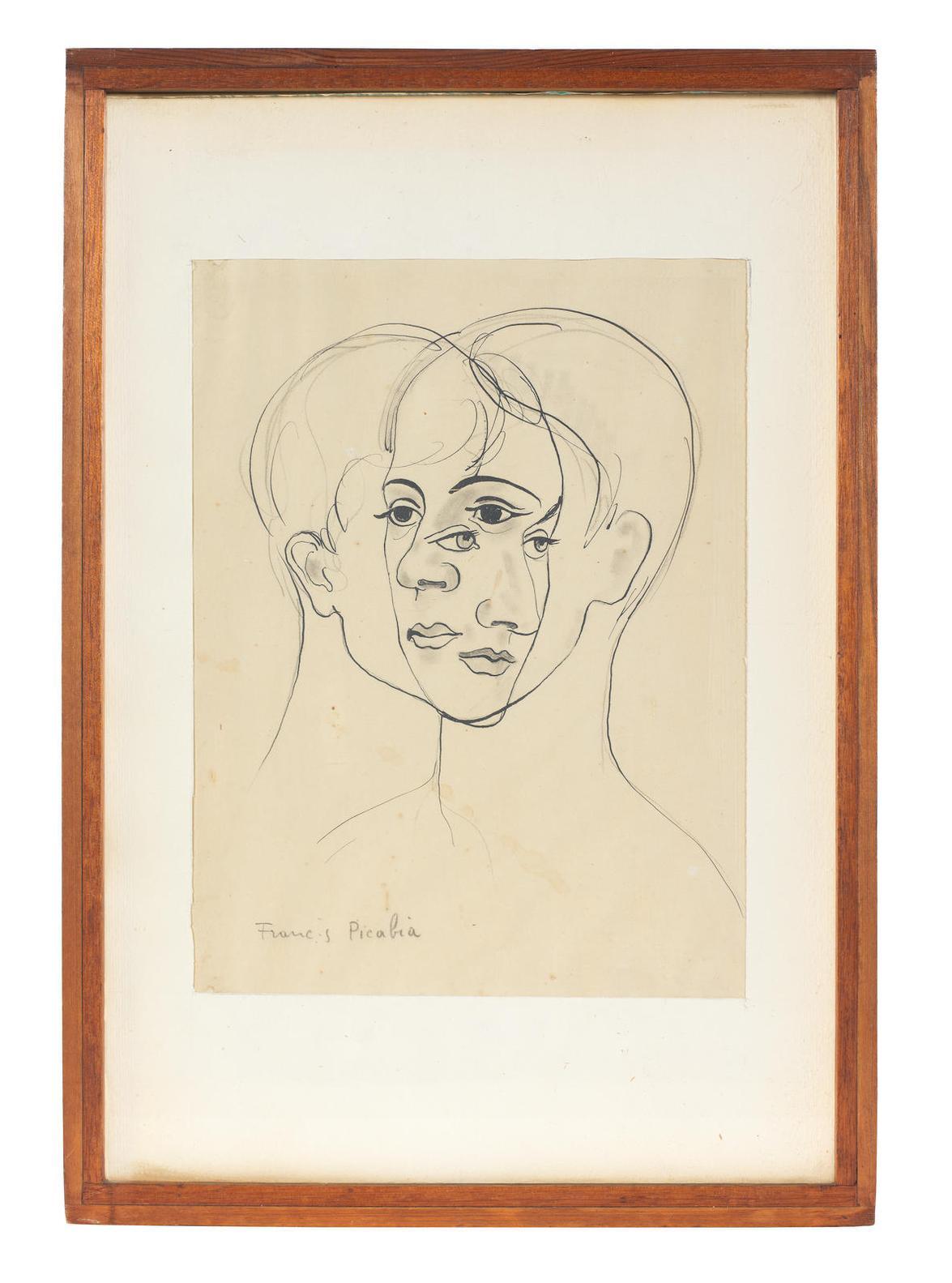 Francis Picabia-Sans Titre (Transparence)-1930