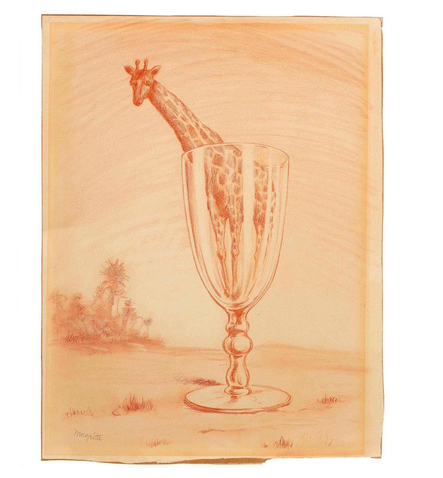 Rene Magritte-Le Bain De Cristal-1946