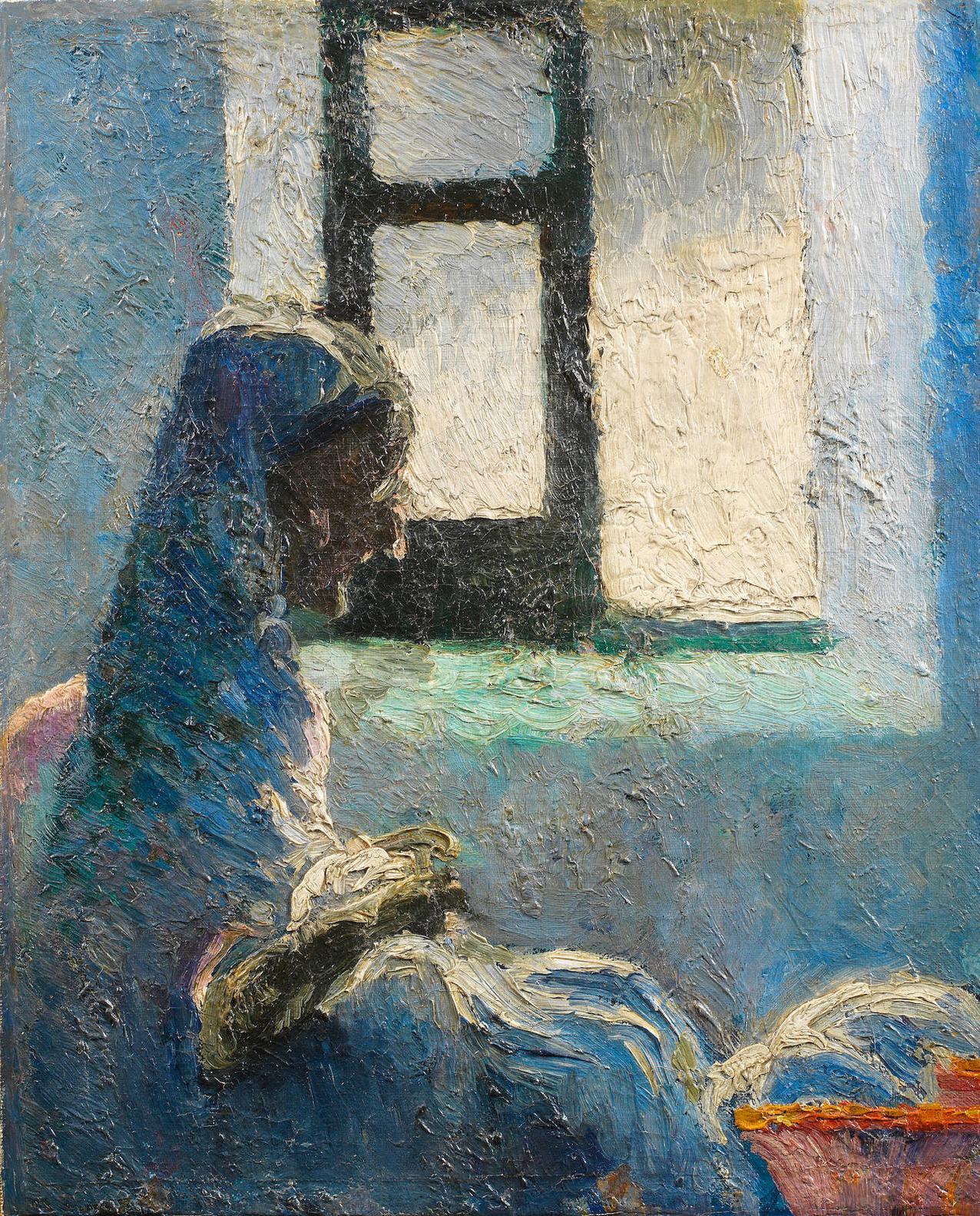 Salvador Dali-Retrat De Lavia Anna Cosint-1919
