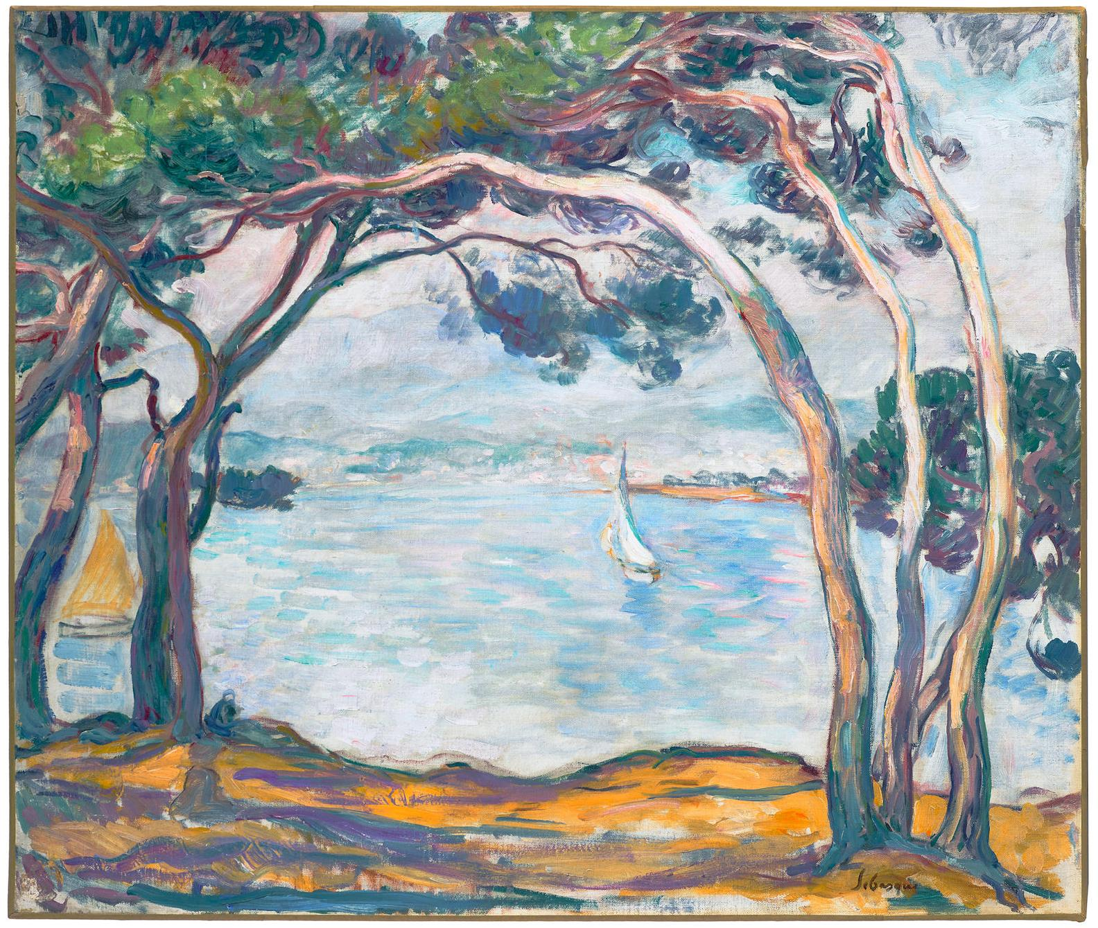Henri Lebasque-Bords De Mer Pres Dantibes-1907