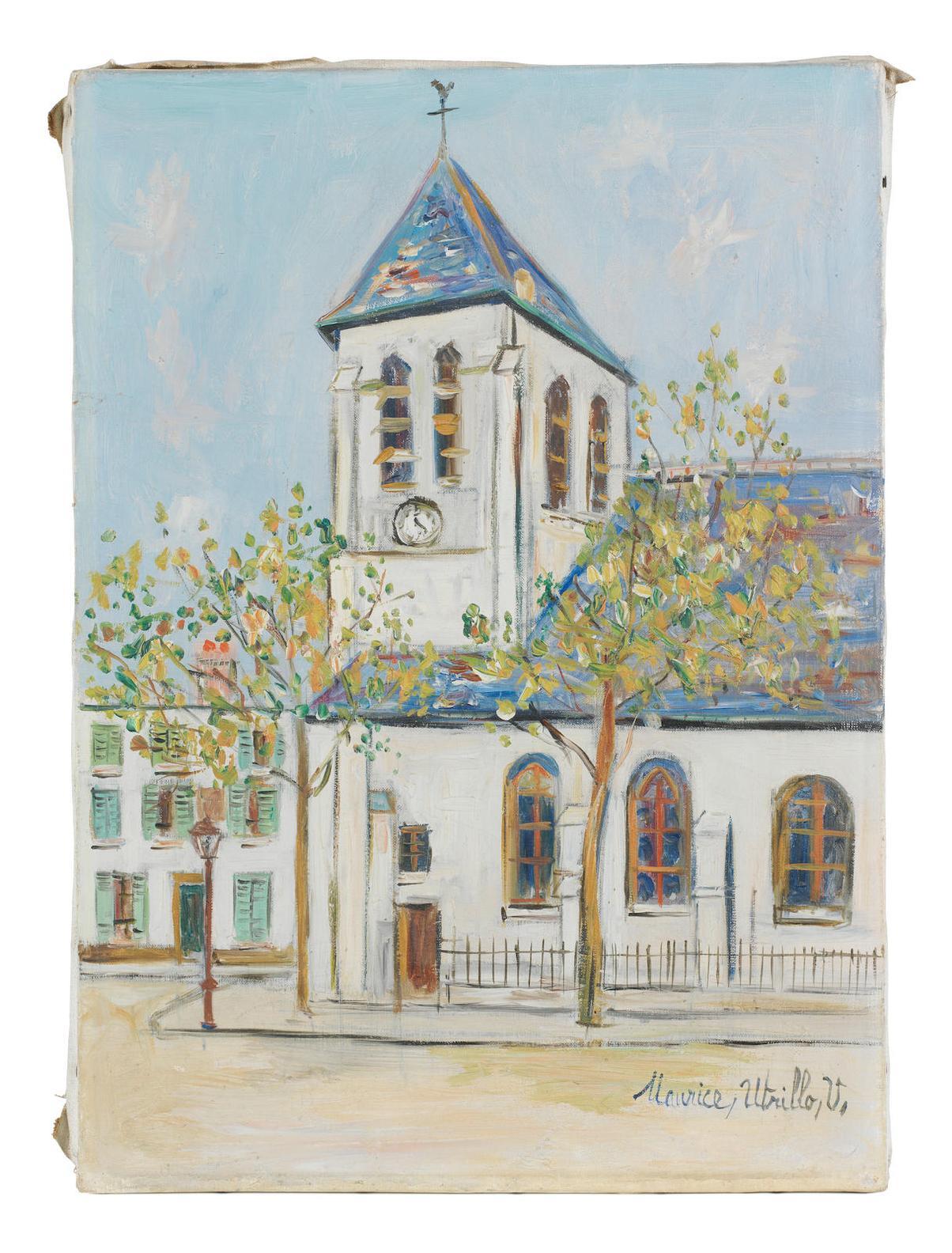 Maurice Utrillo-Leglise-