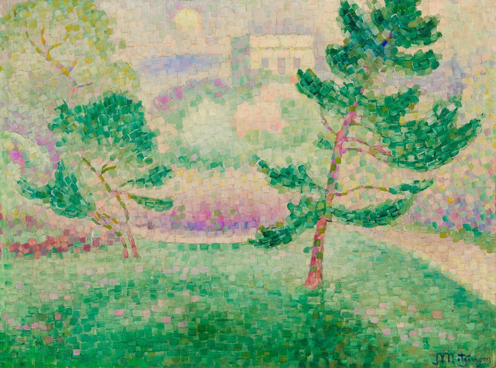 Jean Metzinger-Matin Au Parc Montsouris-1906