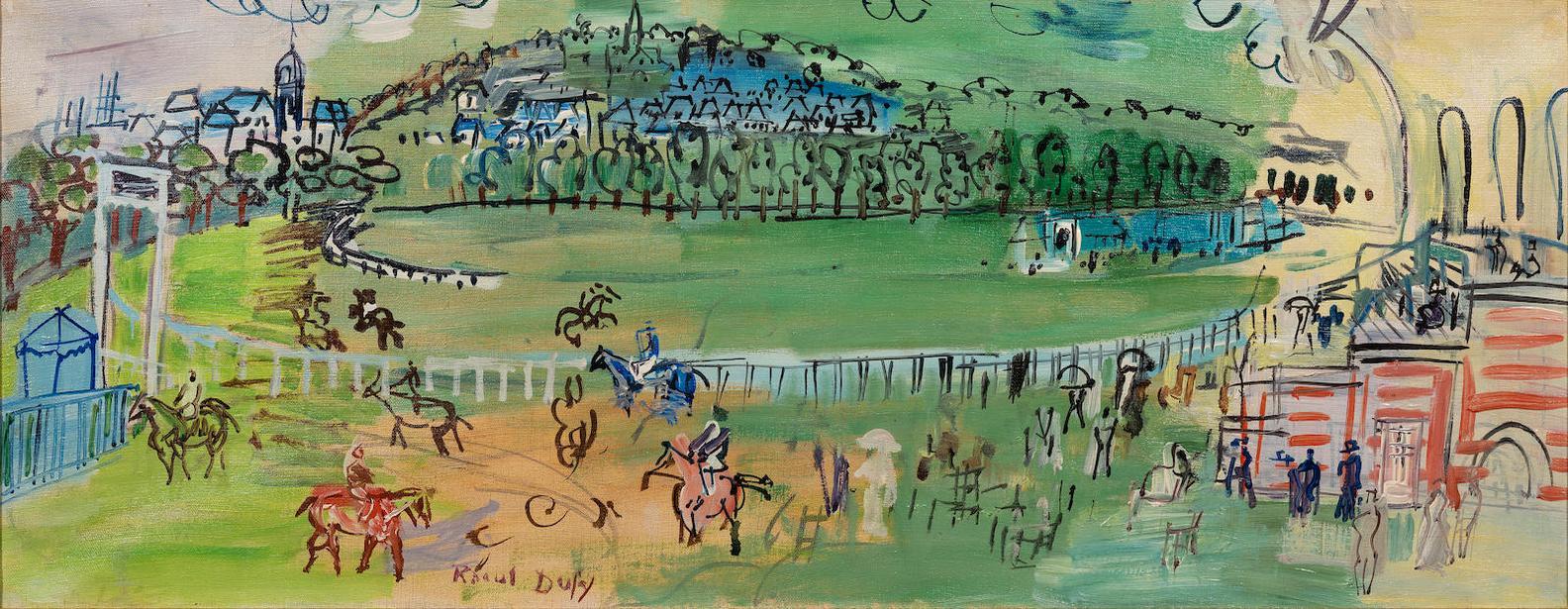 Raoul Dufy-Le Champ De Courses De Deauville-1931