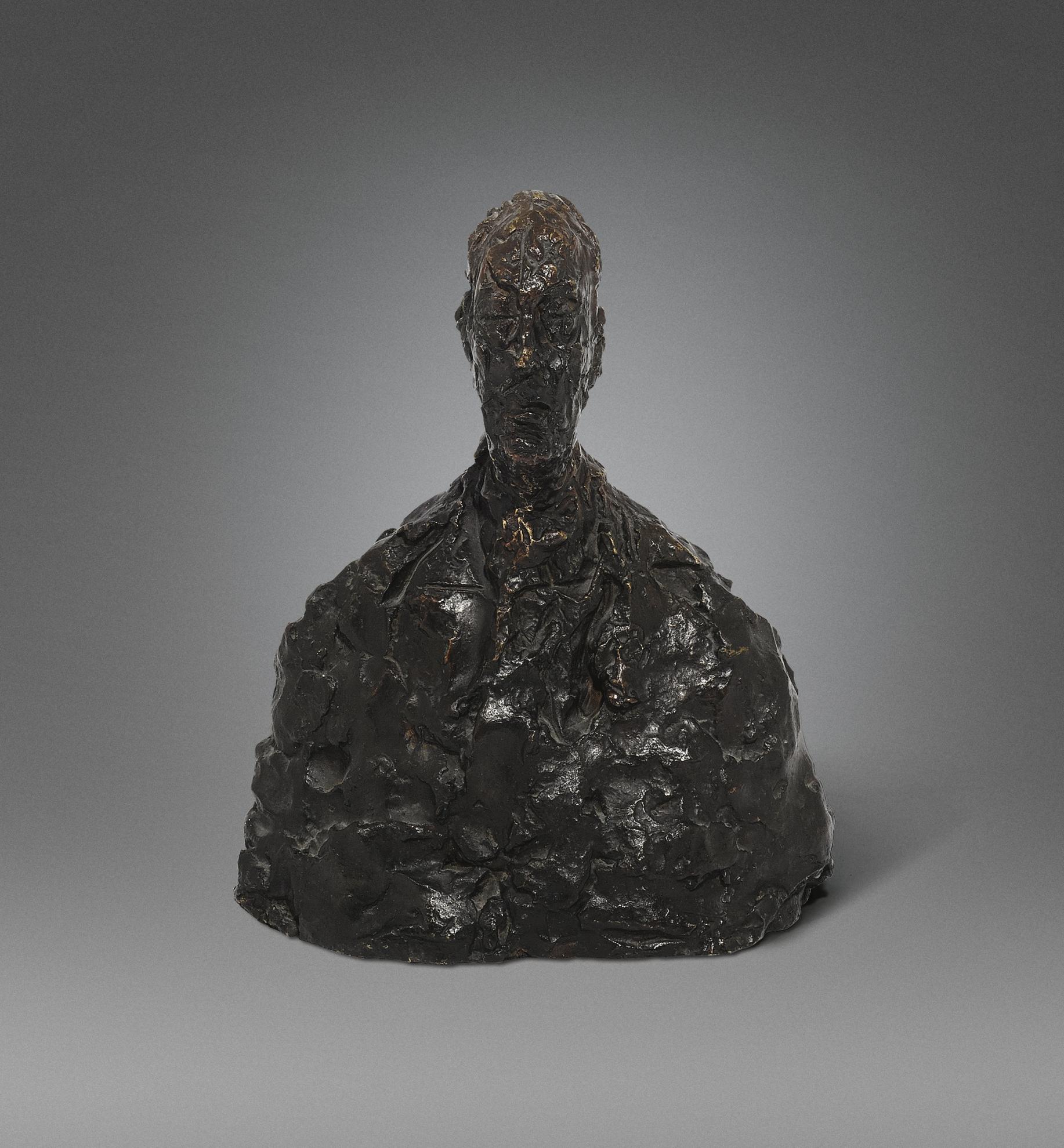 Alberto Giacometti-Buste De Fraenkel-1959