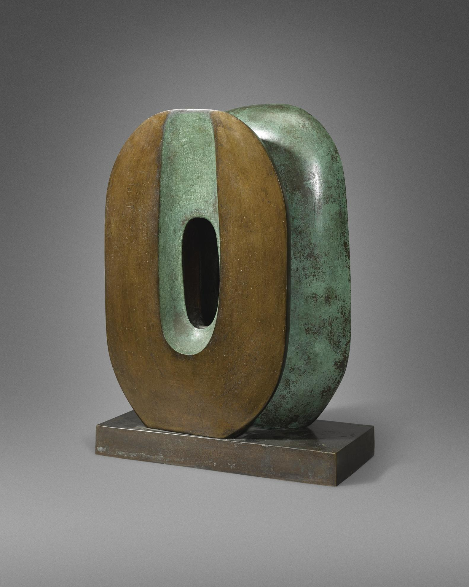 Barbara Hepworth-Maquette For Dual Form-1965