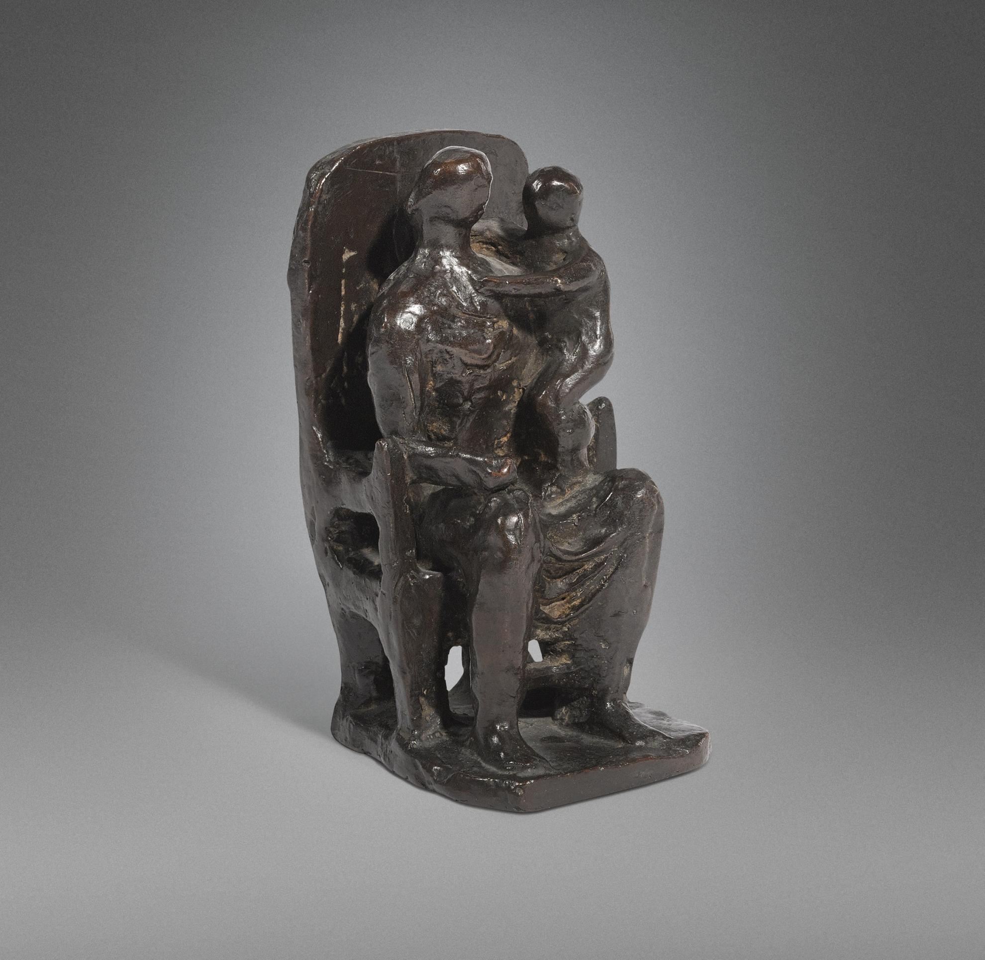 Henry Moore-Madonna And Child-1943