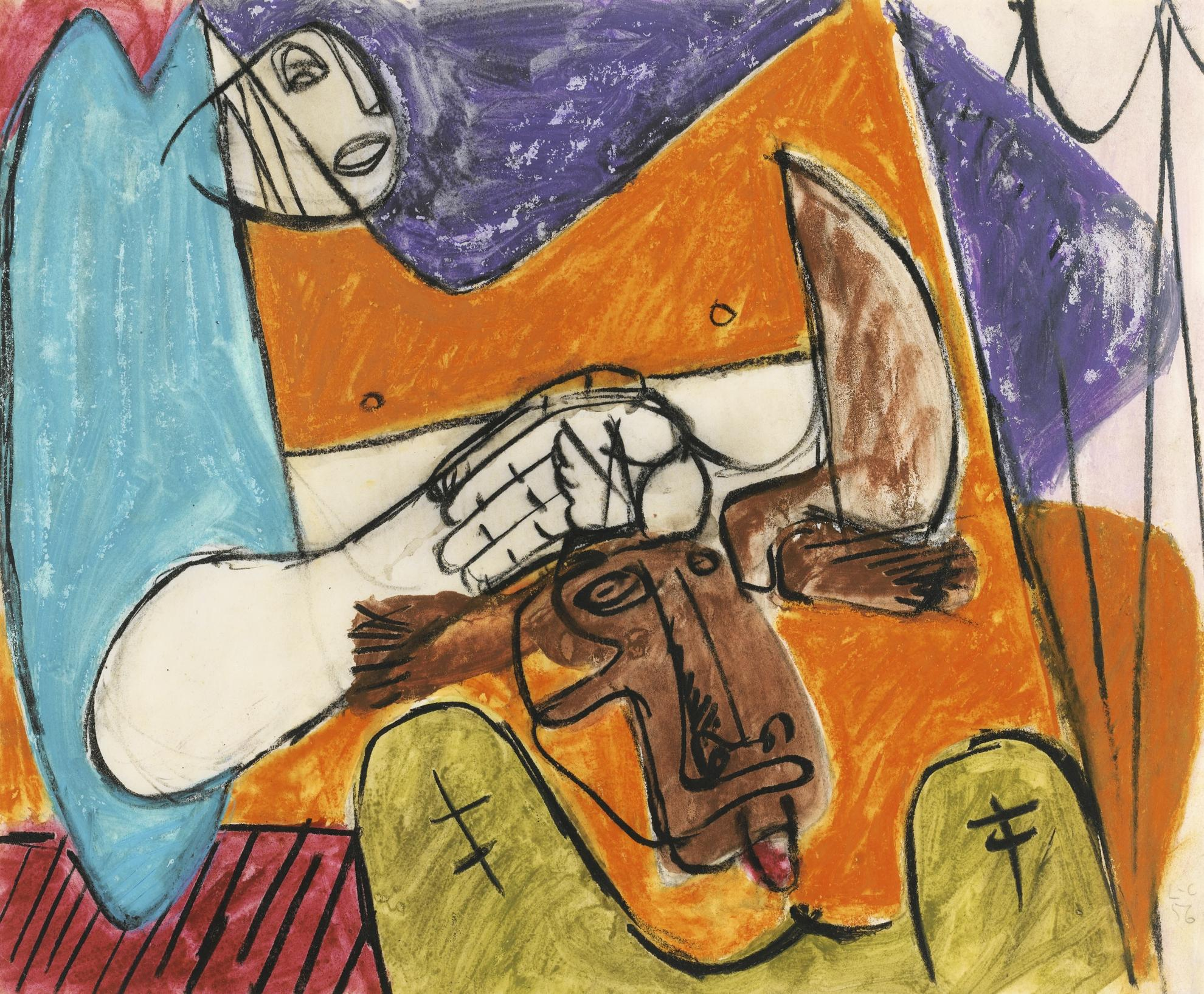 Le Corbusier-Naissance Du Minotaure-1956