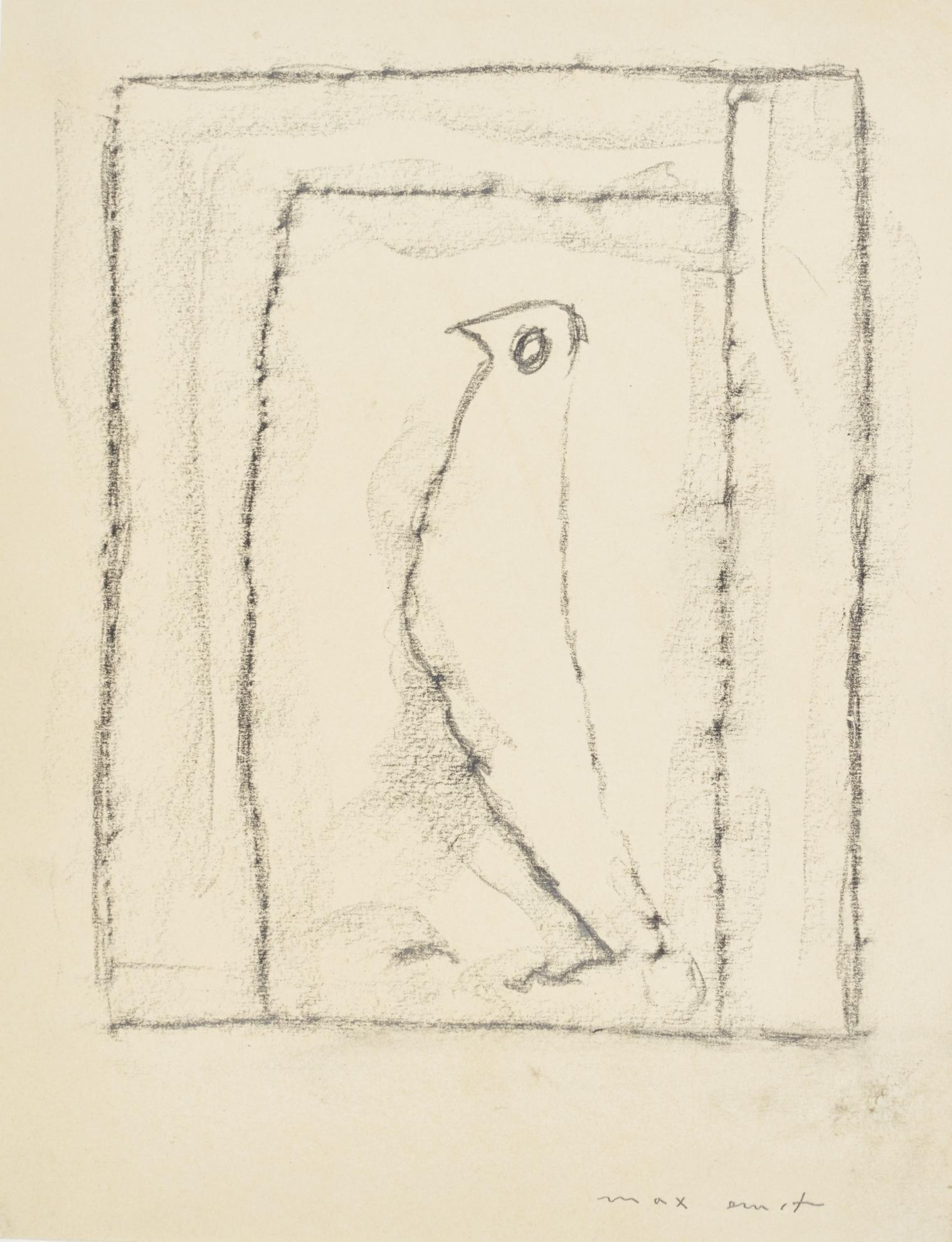 Max Ernst-Ohne Titel (Untitled)-1969