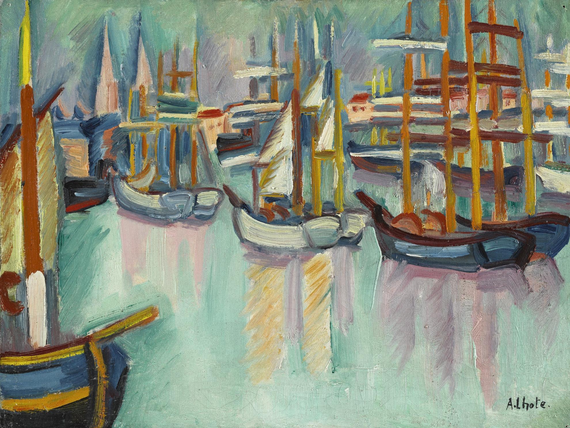 Andre Lhote-Port De Bordeaux-1908