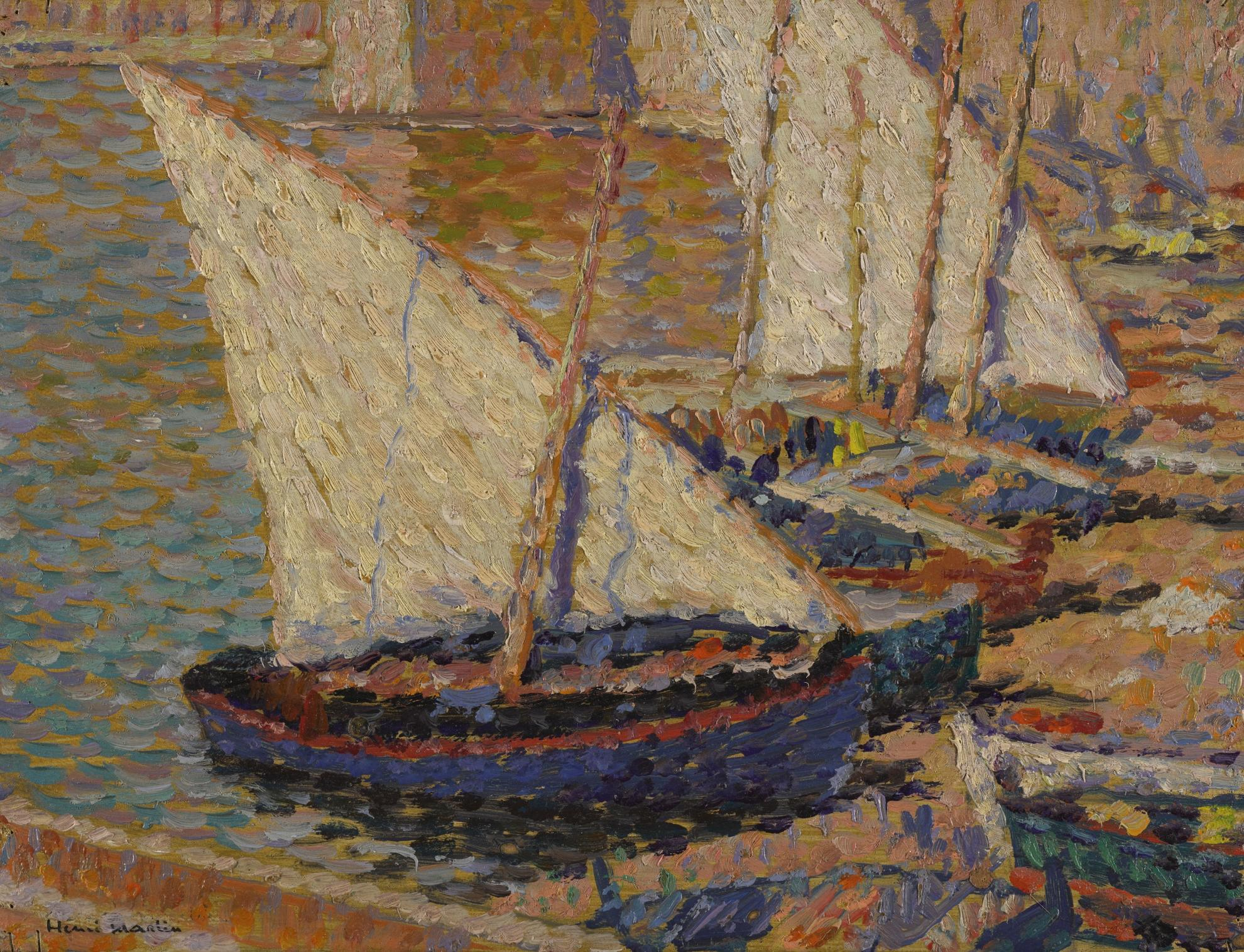 Henri Martin-Barques A Collioure-