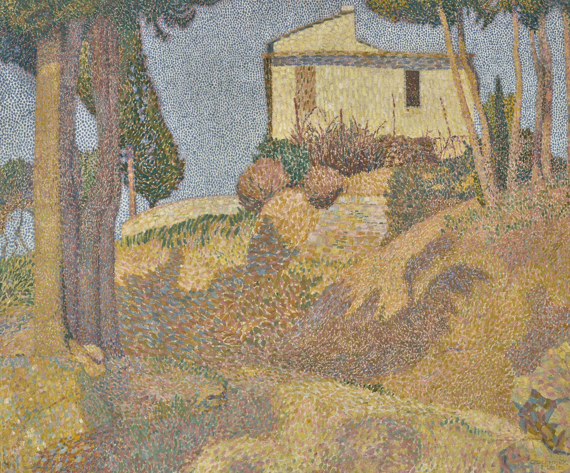Carl Schmitz-Pleis - Landschaft Im Italien (Italian Landscape)-