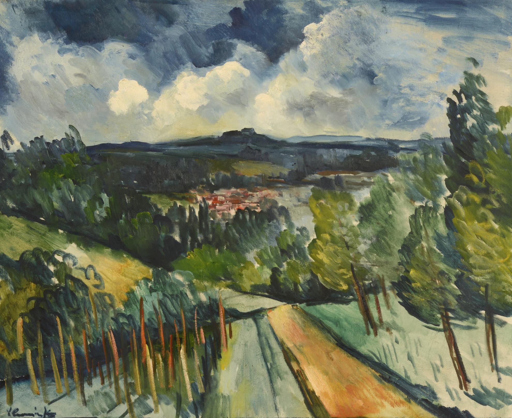 Maurice de Vlaminck-Paysage-