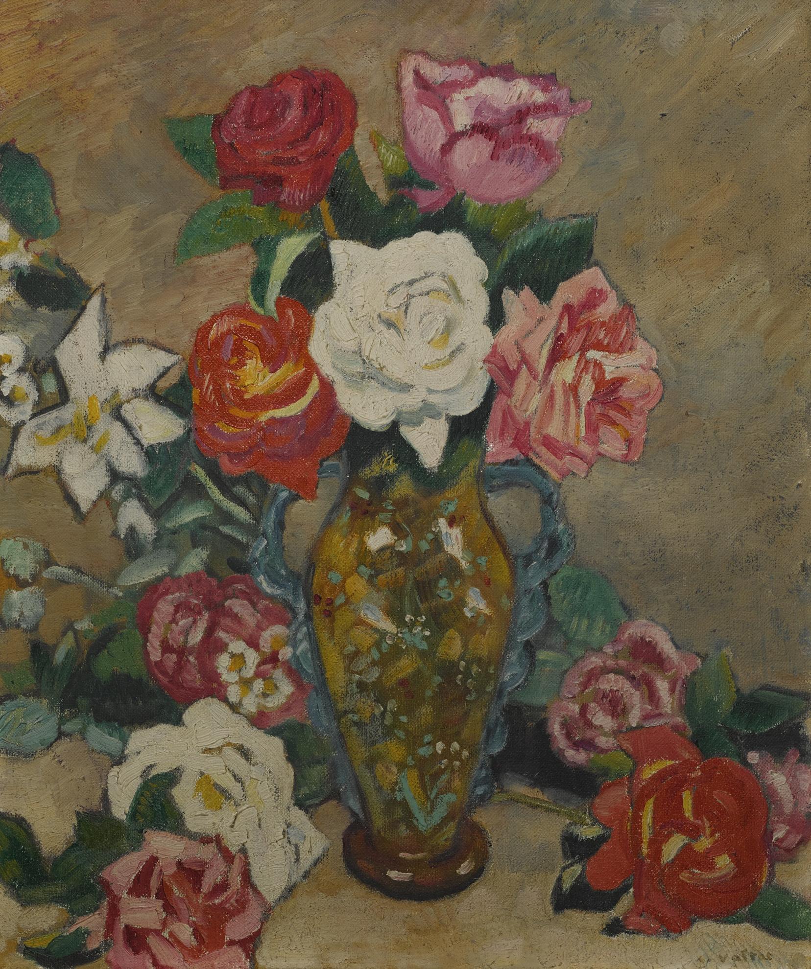Louis Valtat-Bouquet De Roses-1908