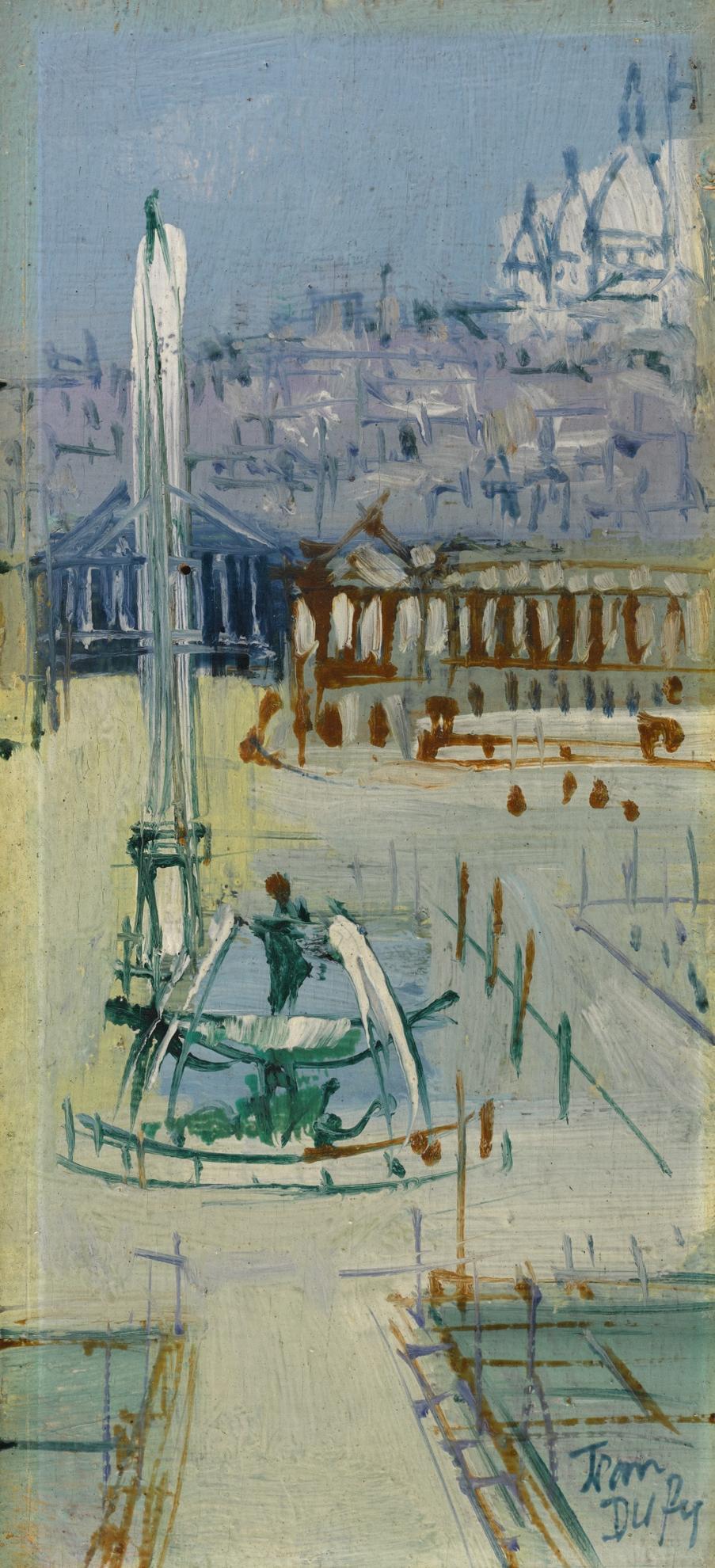 Jean Dufy-Paris, Place De La Concorde-