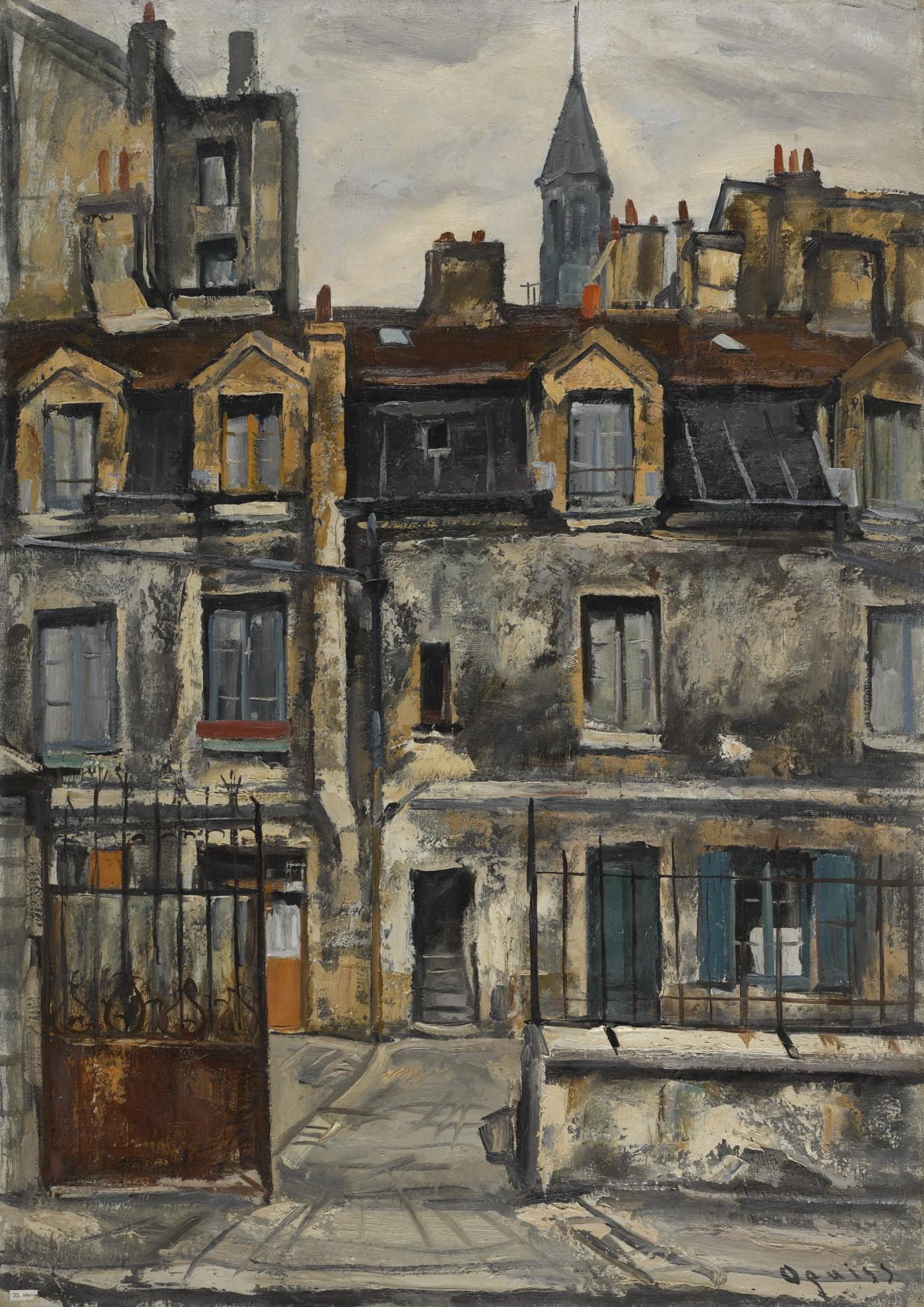 Takanori Oguiss - Mairie De Saint-Denis, Le Beffroi-1951