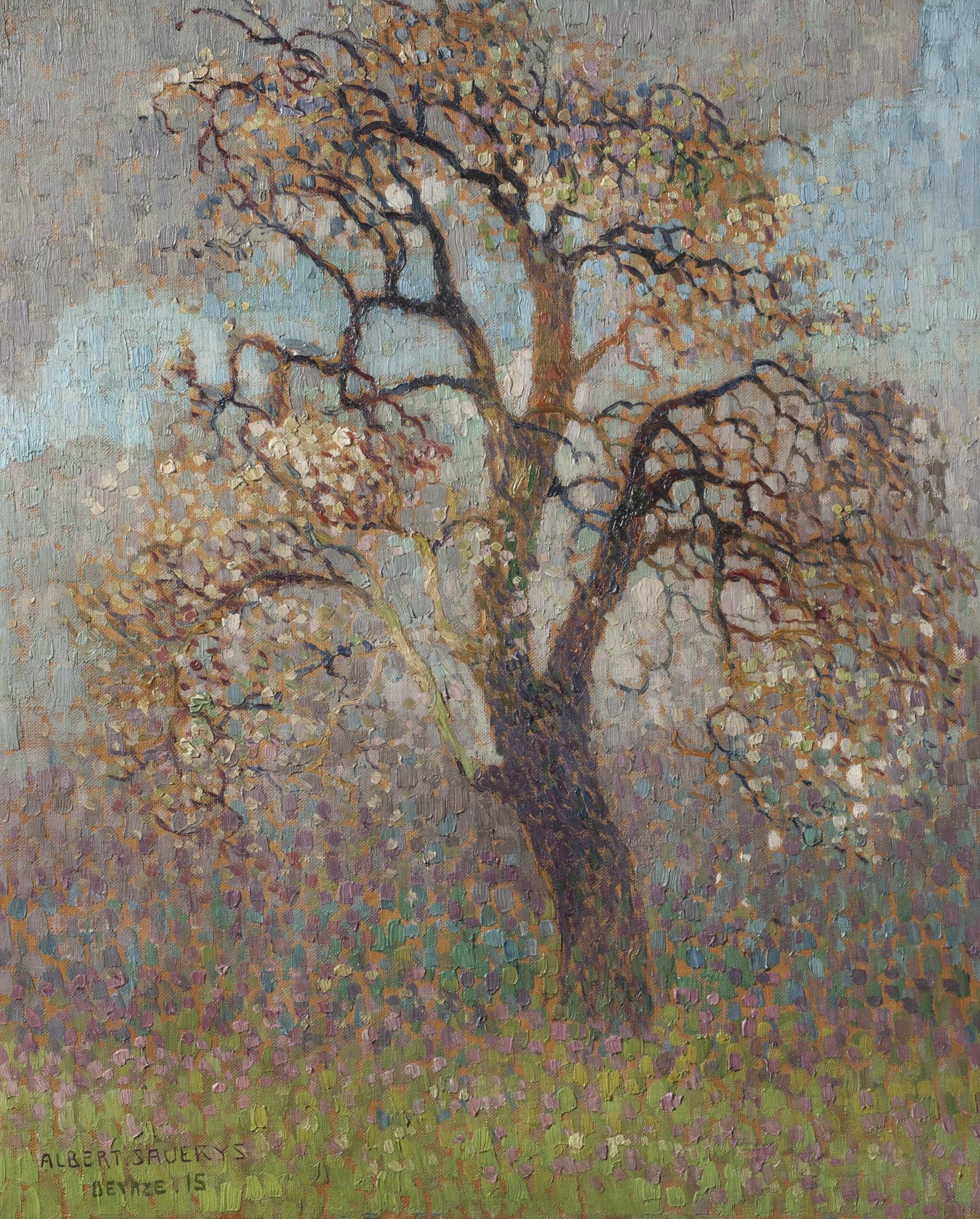 Albert Saverys - Arbre-1915