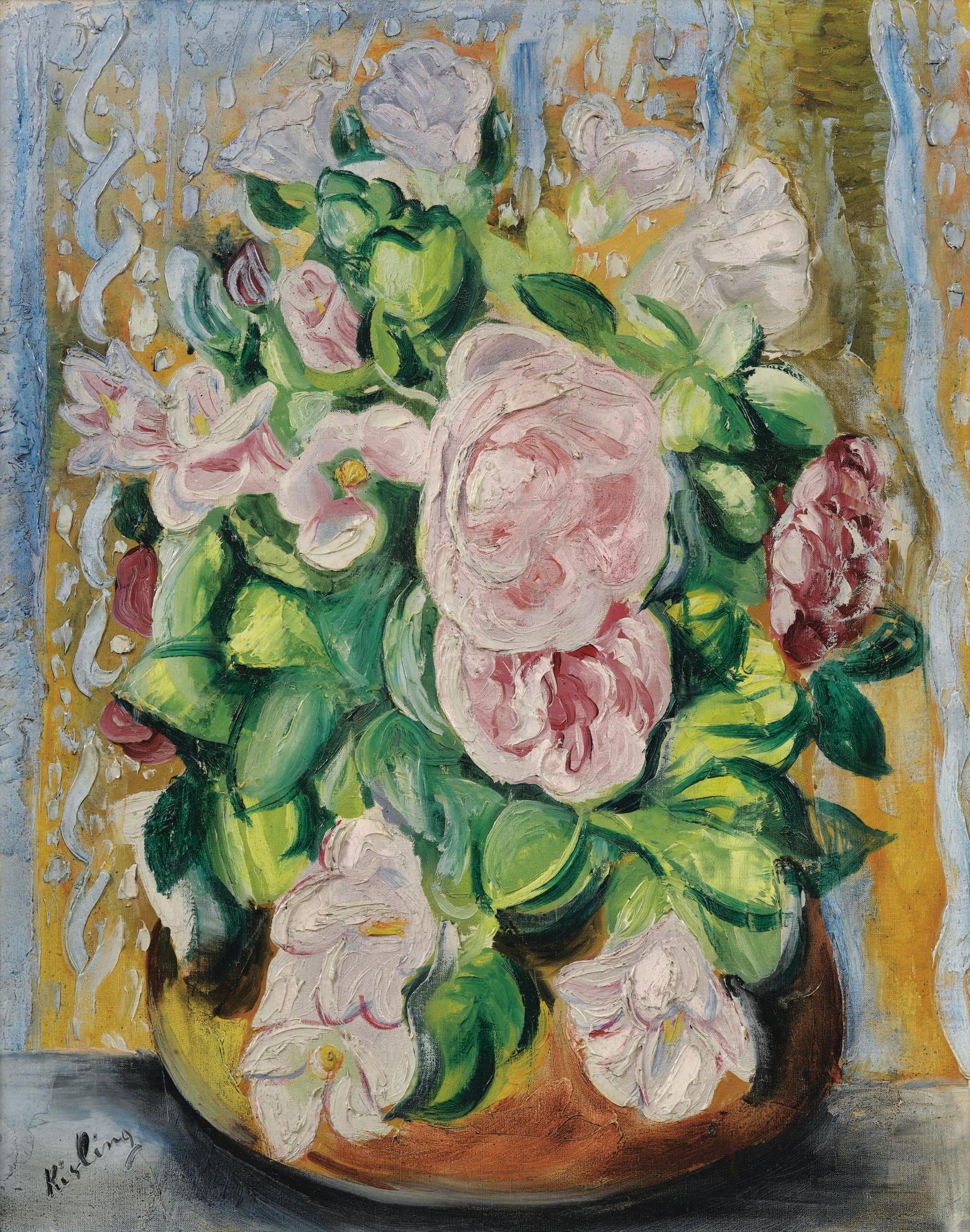 Moise Kisling-Bouquet-1923