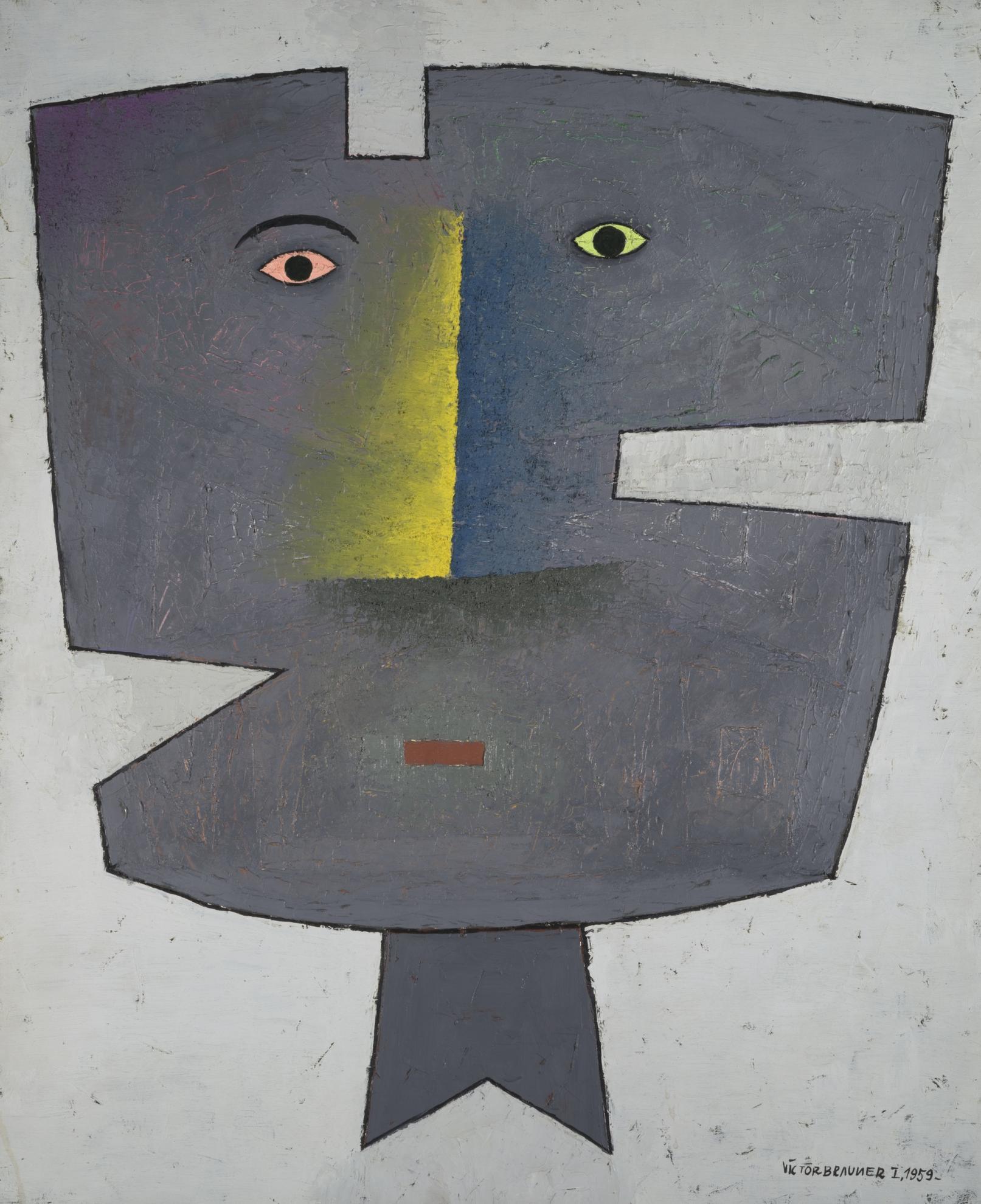 Victor Brauner-Reconstruction De L'Etre Aime Ii-1959