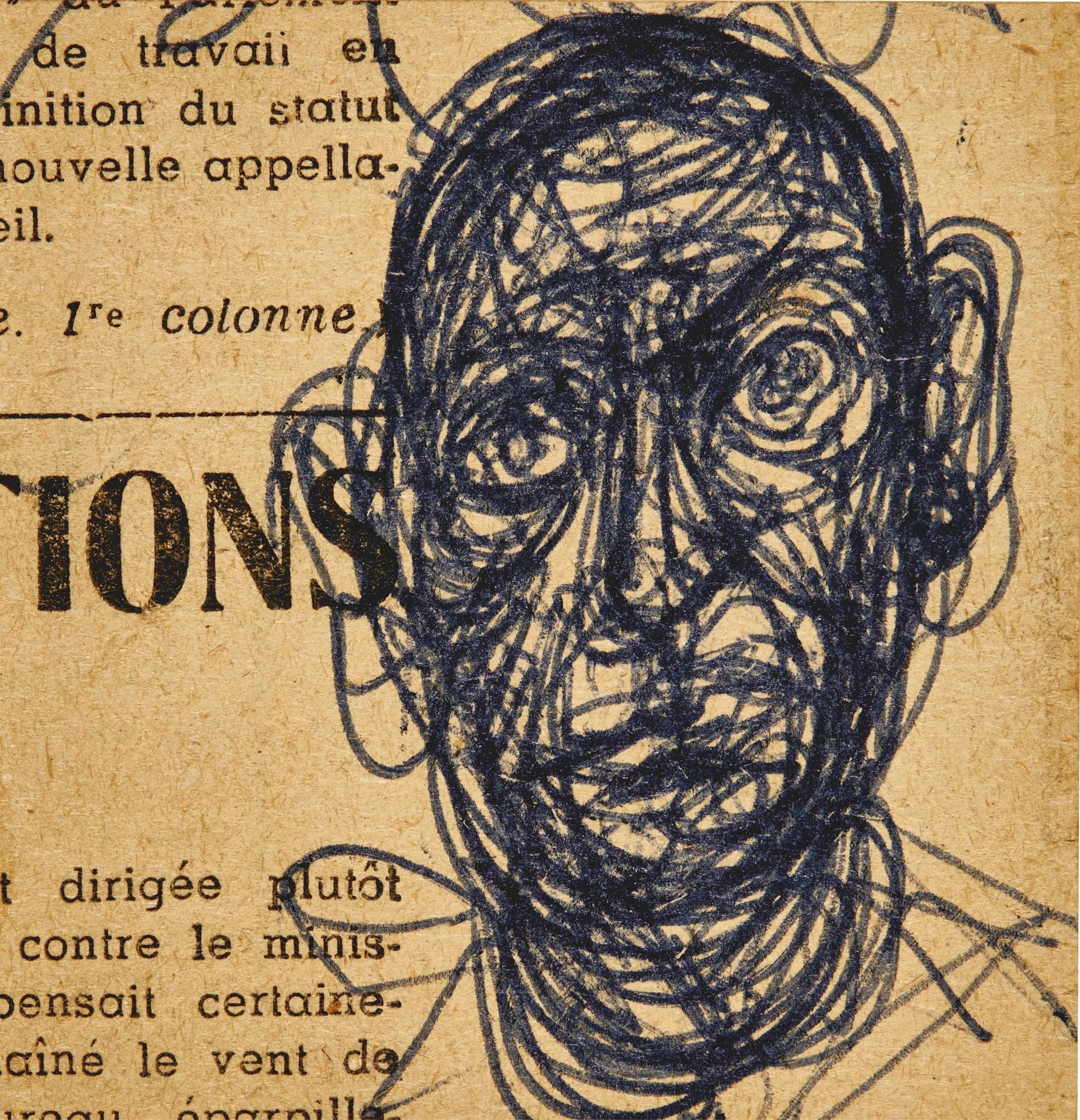 Alberto Giacometti-Tete-1960