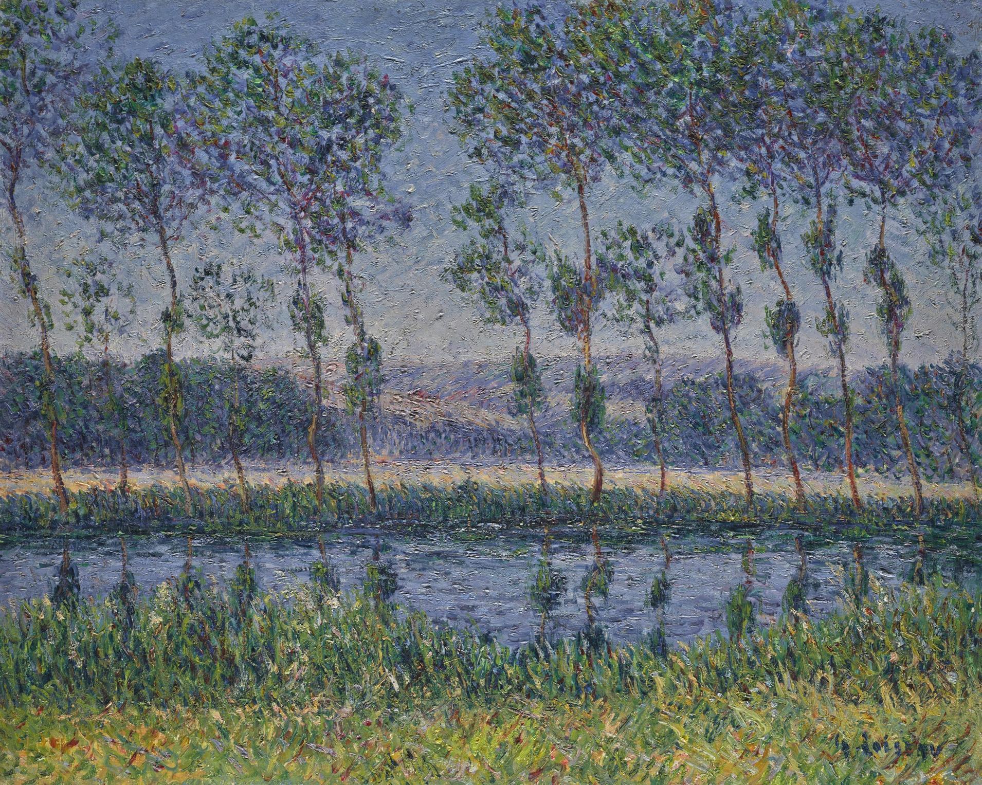 Gustave Loiseau-Rives De Leure En Ete-1899
