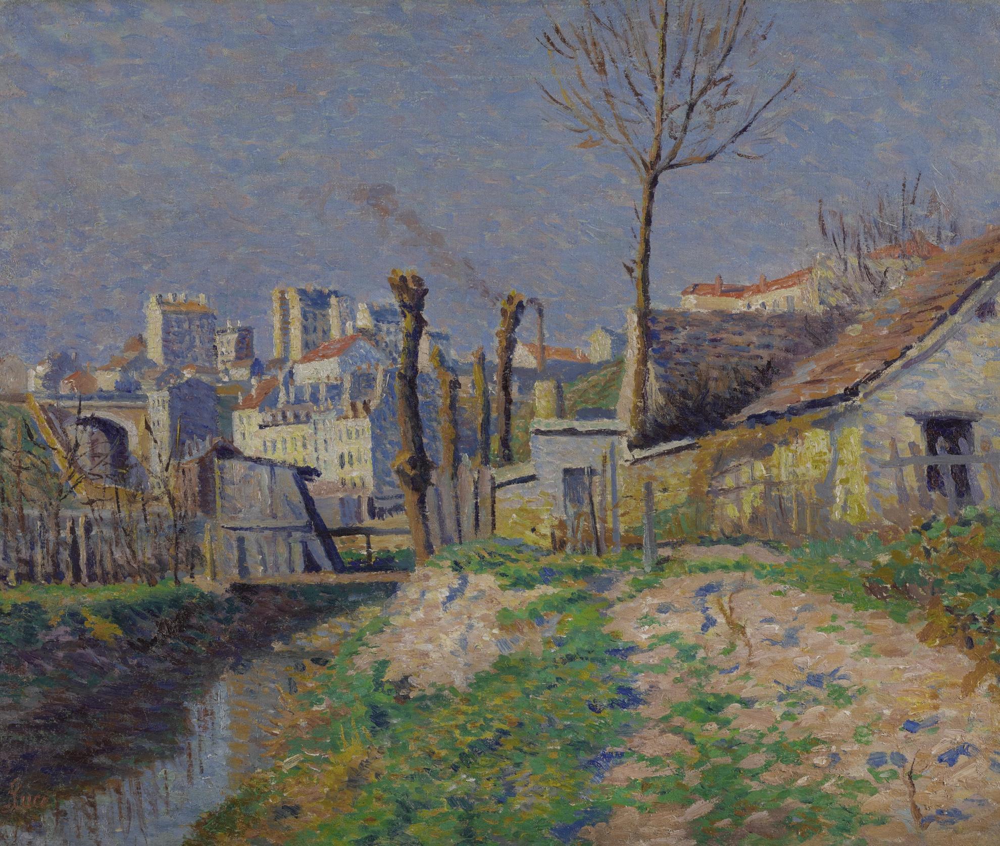Maximilien Luce-La Bievre Pres De Paris-1890