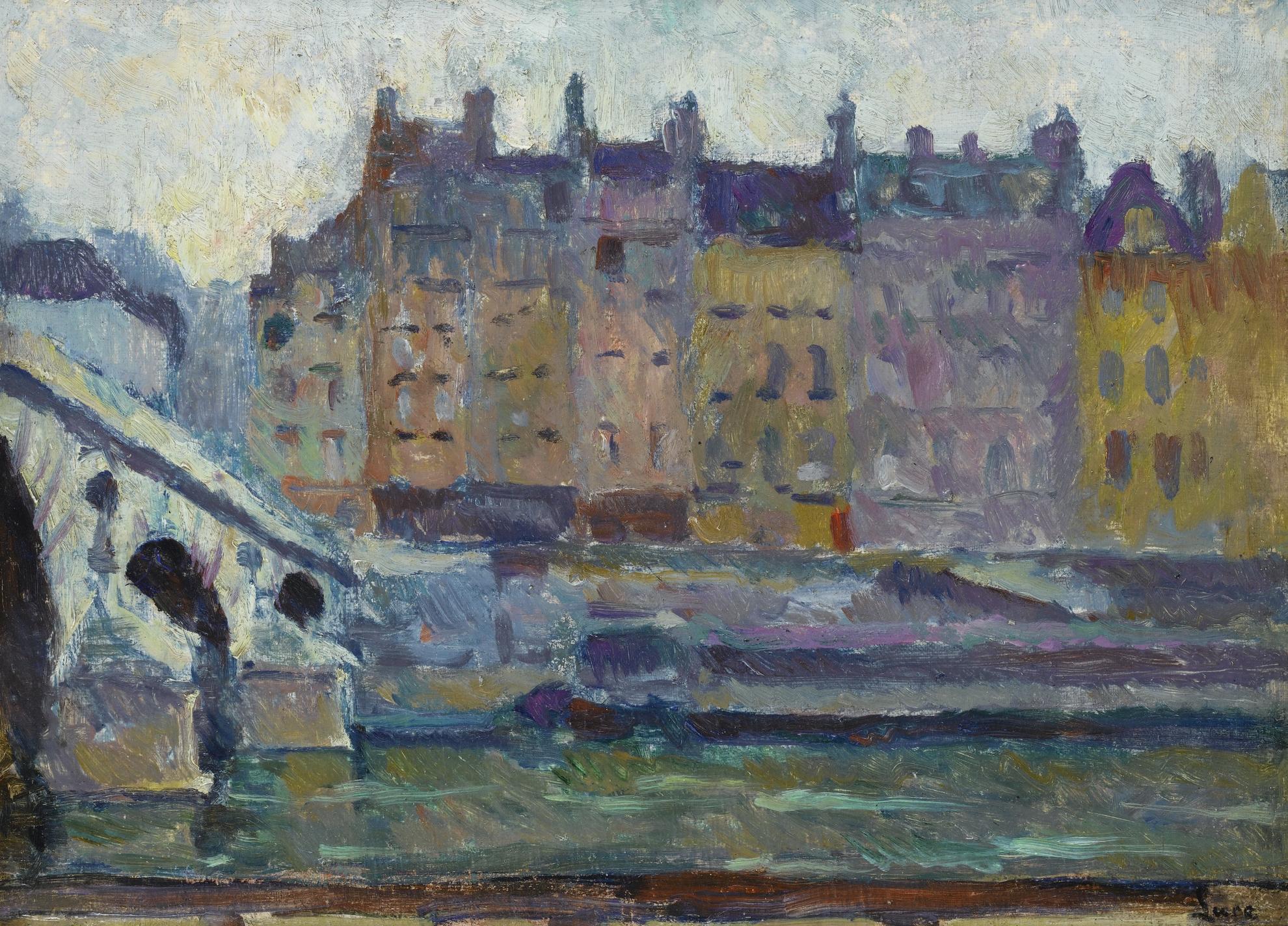 Maximilien Luce-Paris, Le Pont Neuf-