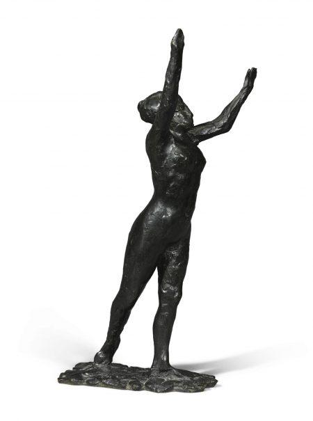 Edgar Degas-Danseuse S'Avancant, Les Bras Leves-1890