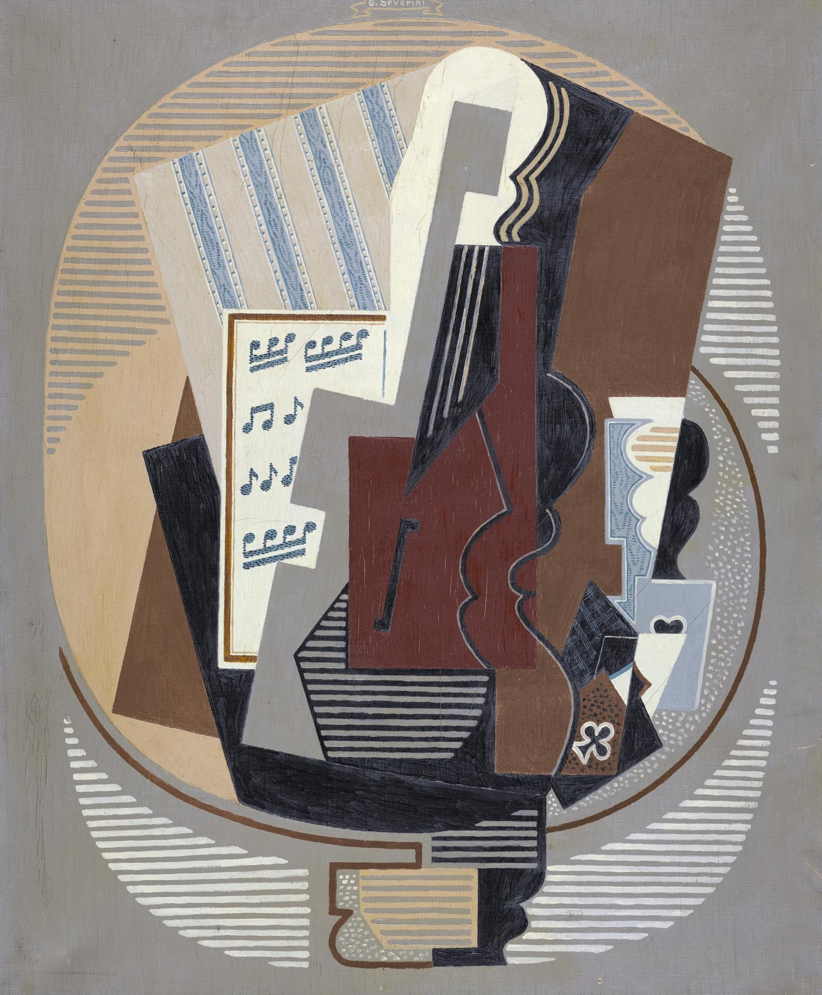 Gino Severini-Abstraction-1918