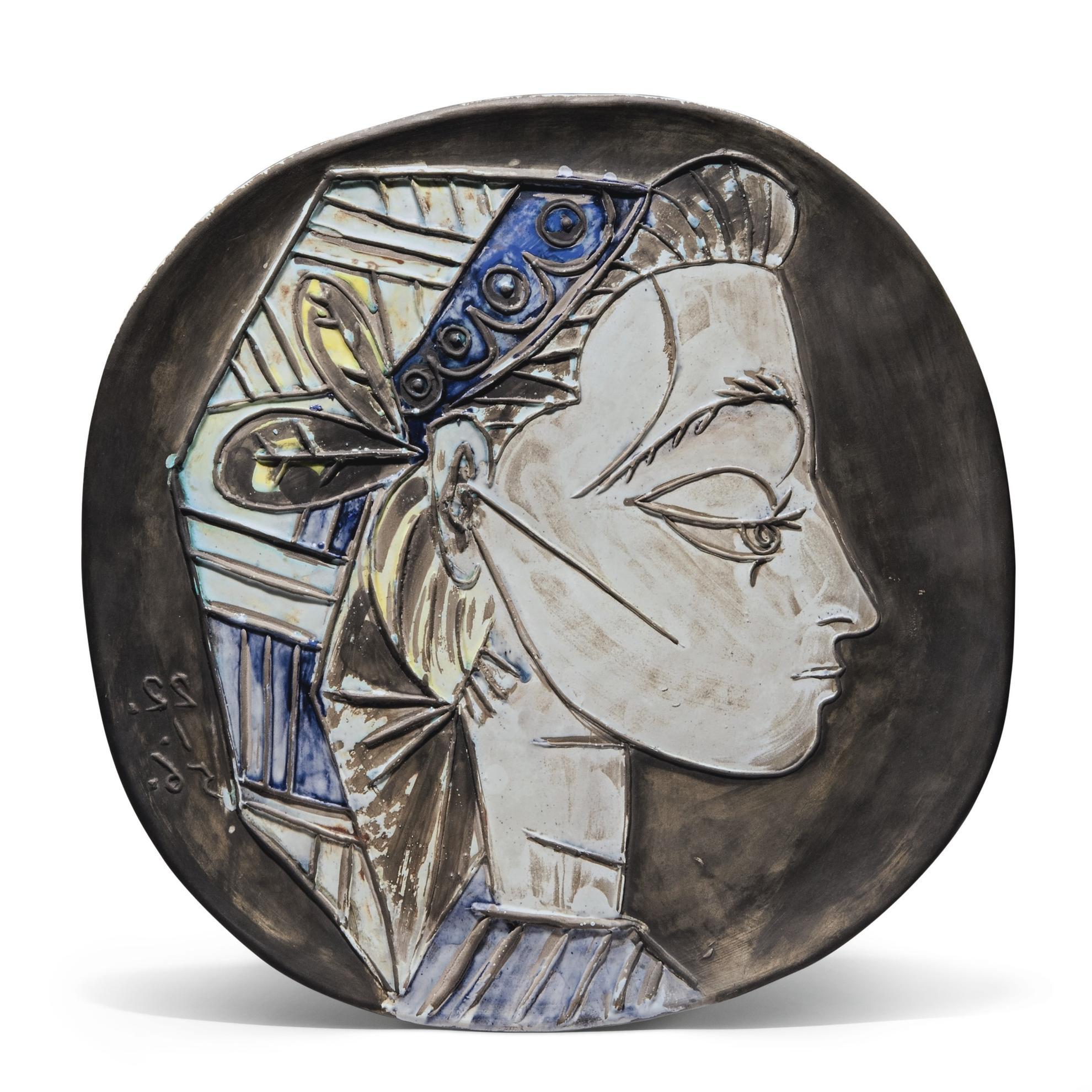 Pablo Picasso-Portrait De Jacqueline-1956