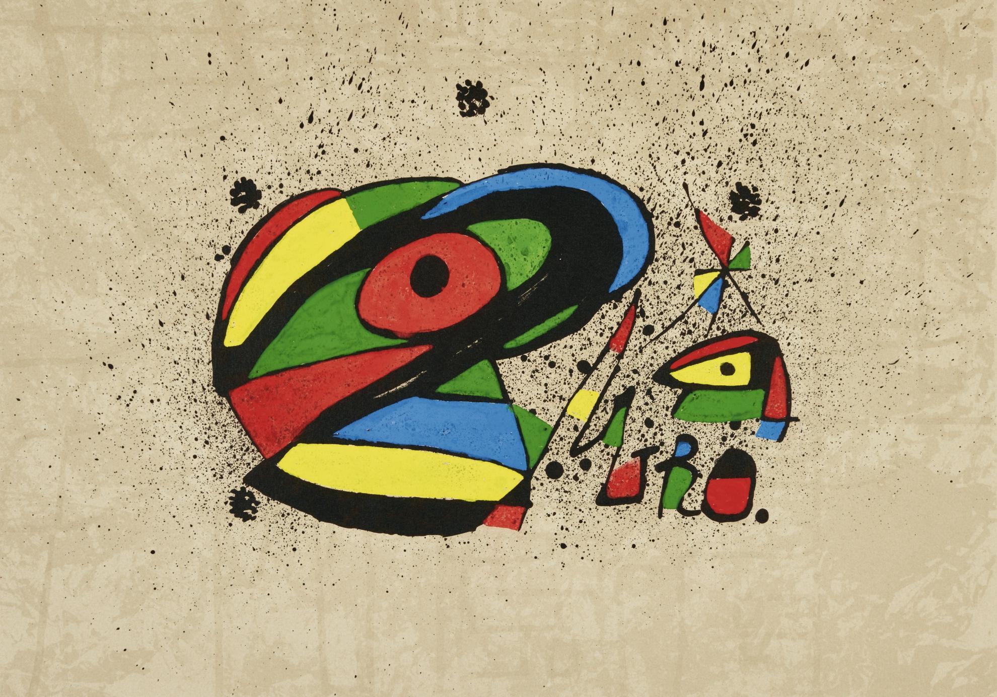 Joan Miro-Homenatje A Gaudi (Homage To Gaudi)-1979