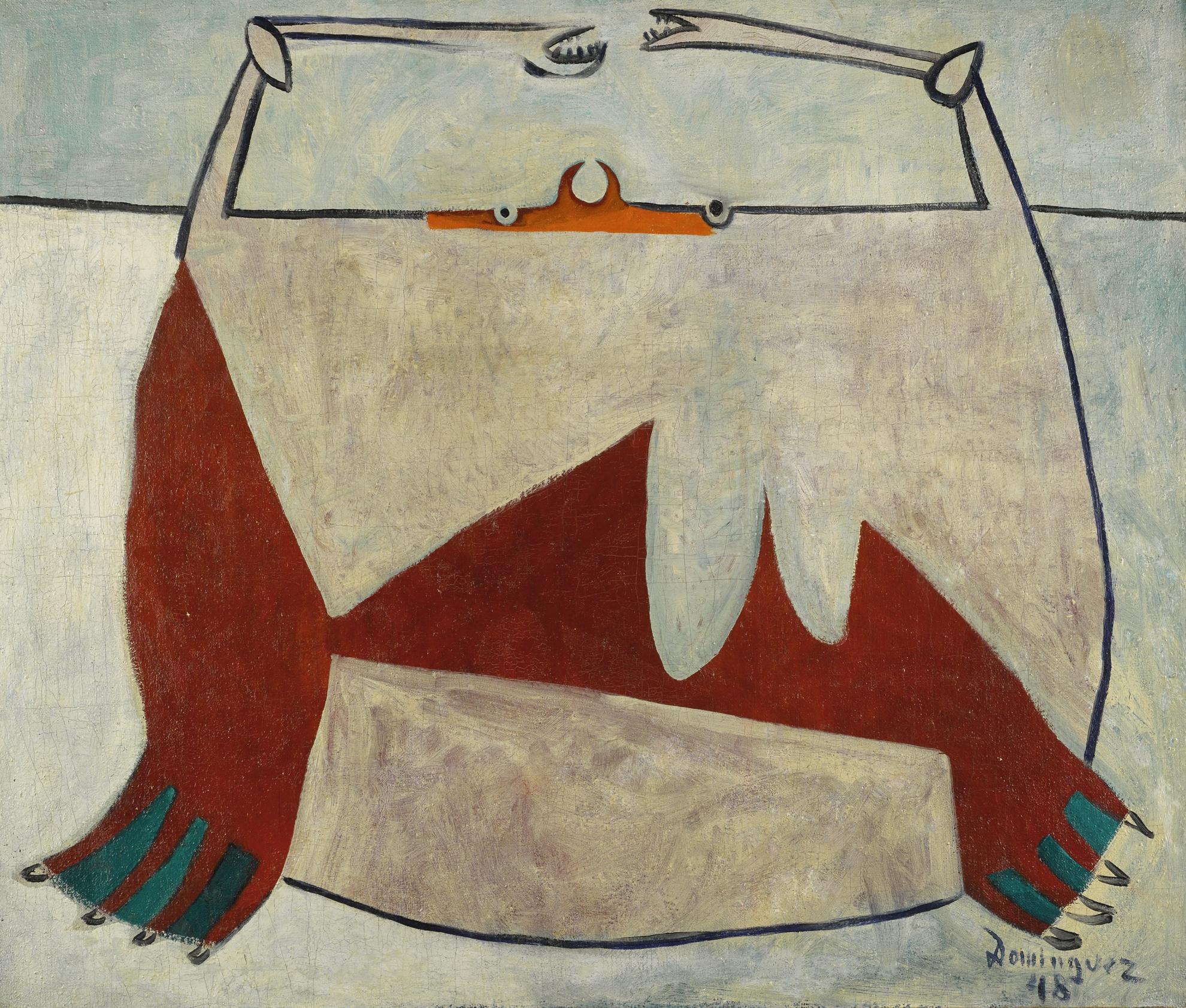 Oscar Dominguez-Autorretrato (Self-Portrait)-1948