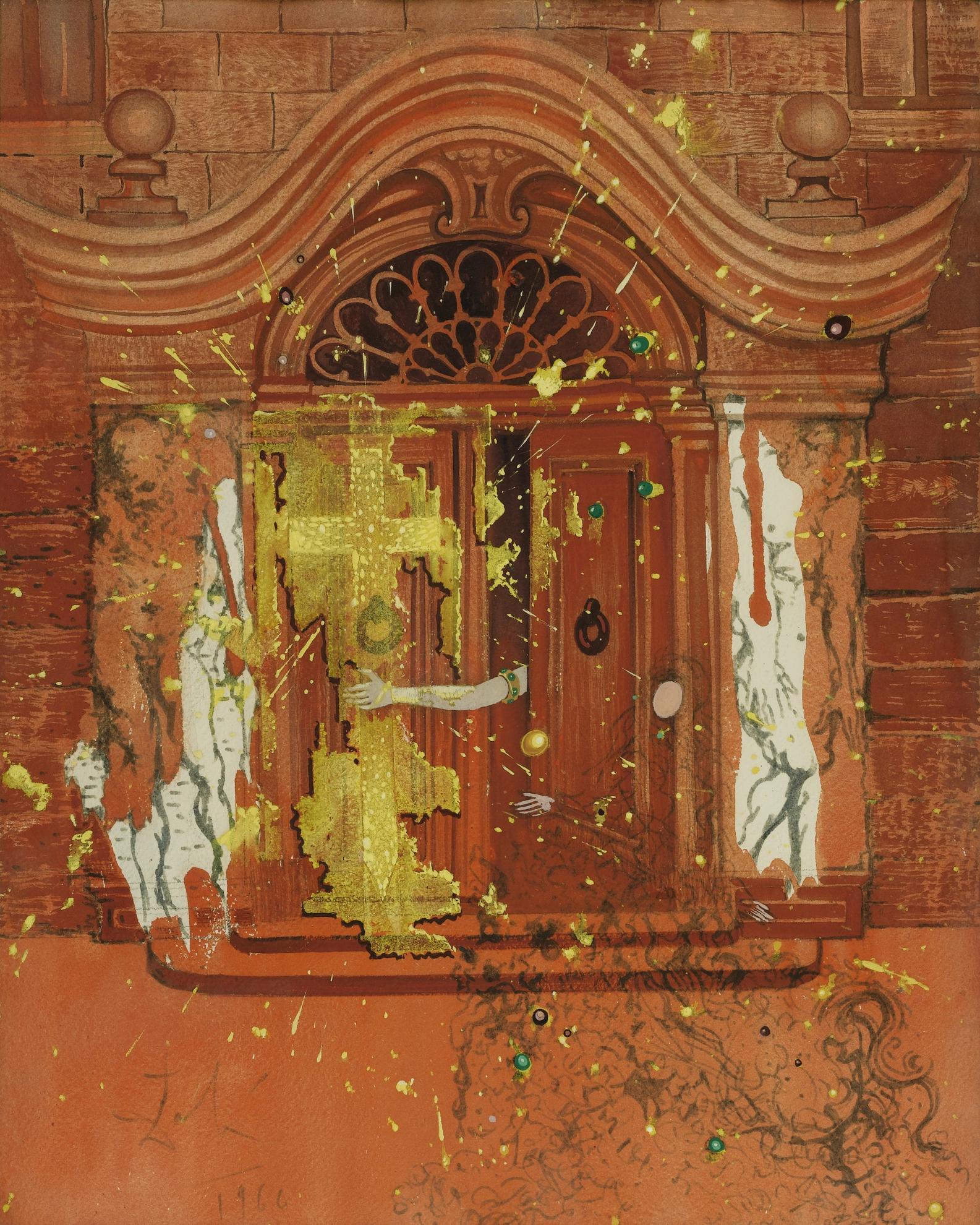 Salvador Dali-Illustration Pour Les Contes Dandersen-1968