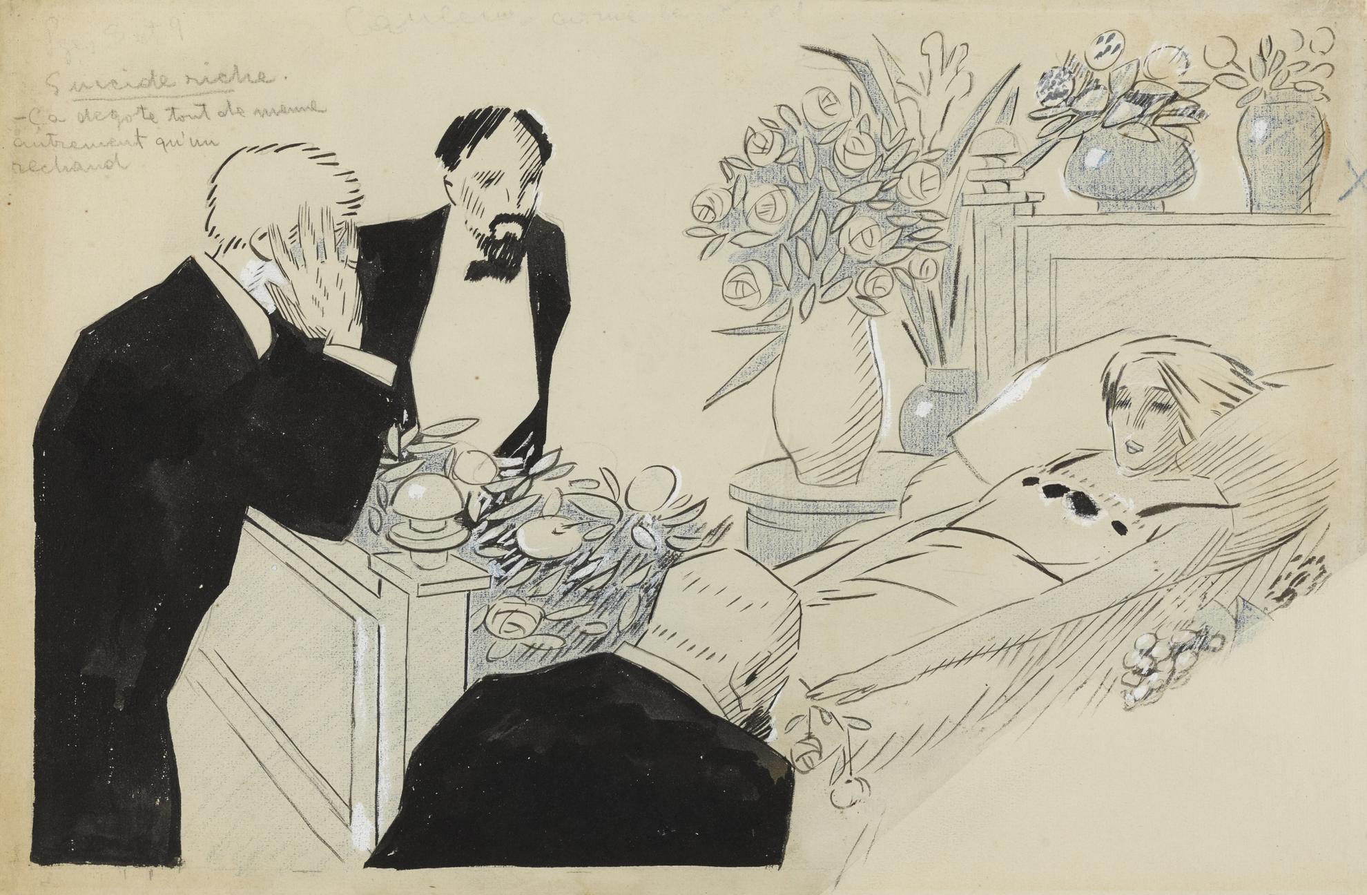 Juan Gris-Suicide Riche-1909