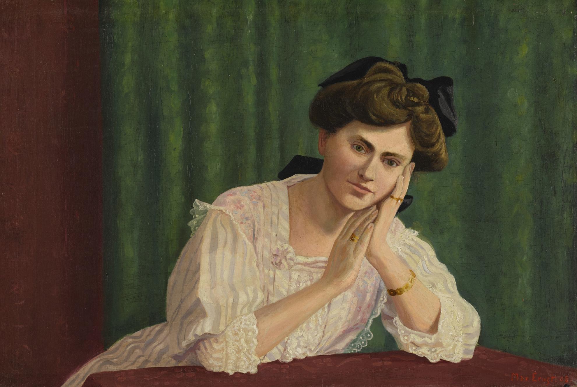 Max Ernst-Bildnis Von Hedwig Hackenberg-1908