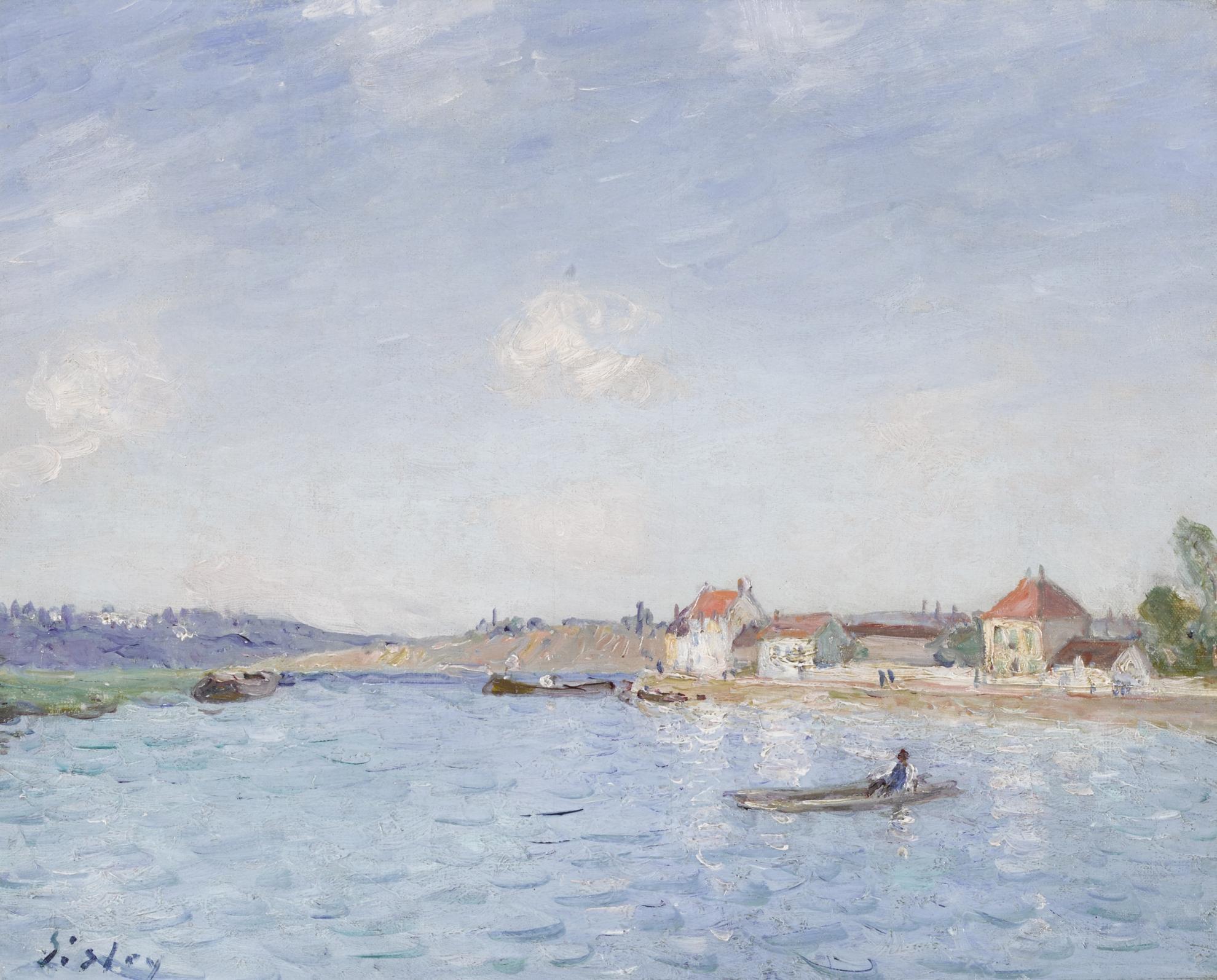 Alfred Sisley-Saint-Mammes-1885