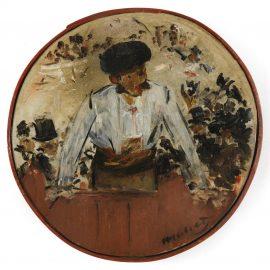 Edouard Manet-Toreador Saluant, Tambour De Basque-1879