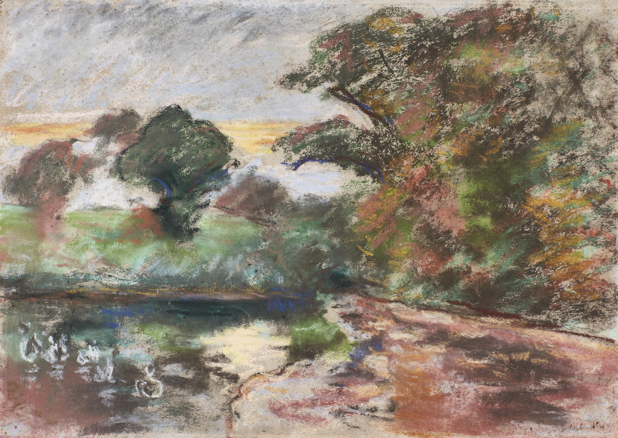Camille Pissarro-Etang De Montfoucault-1875