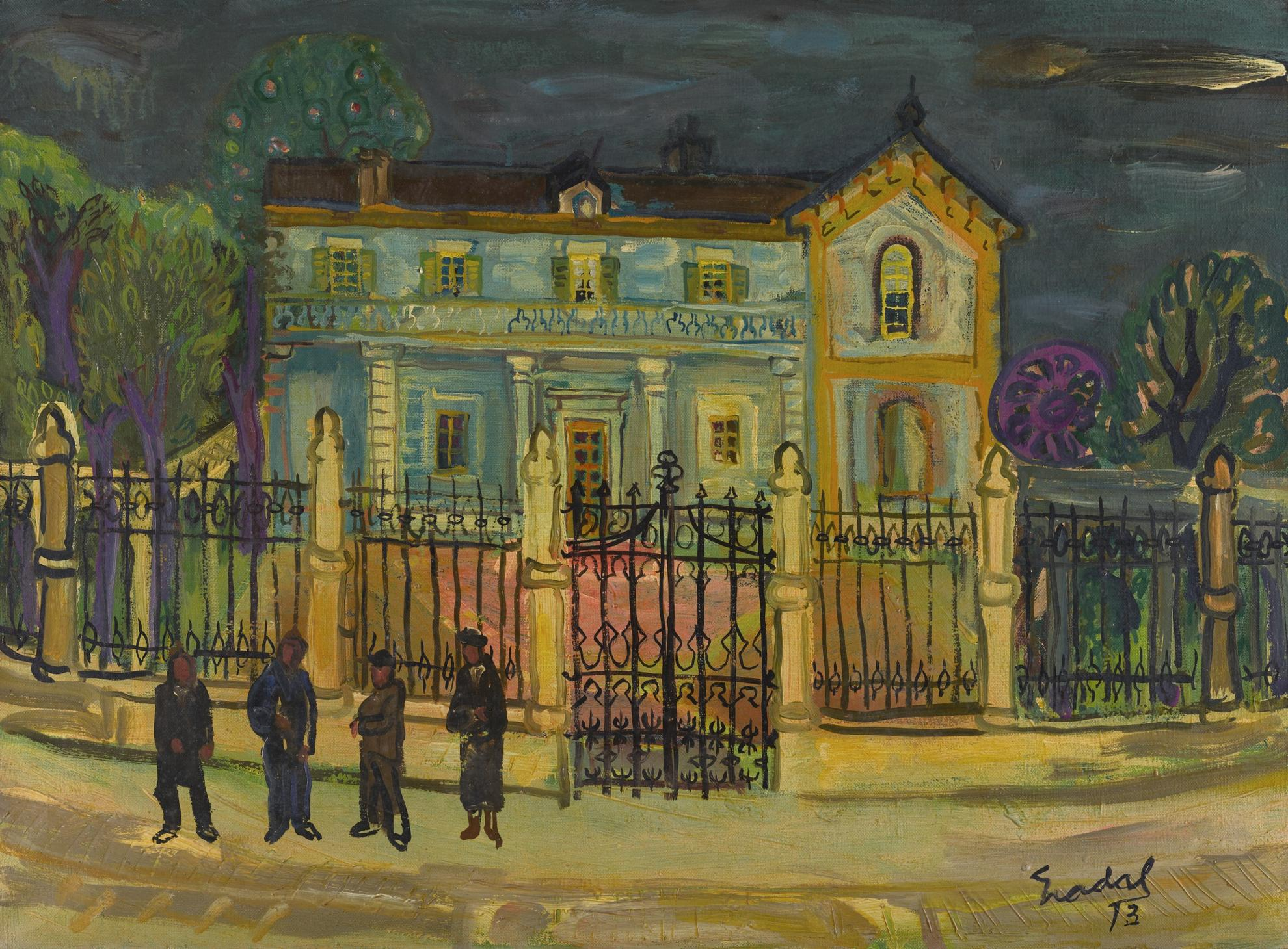 Carlos Nadal-La Casa Del Colegiado-1973