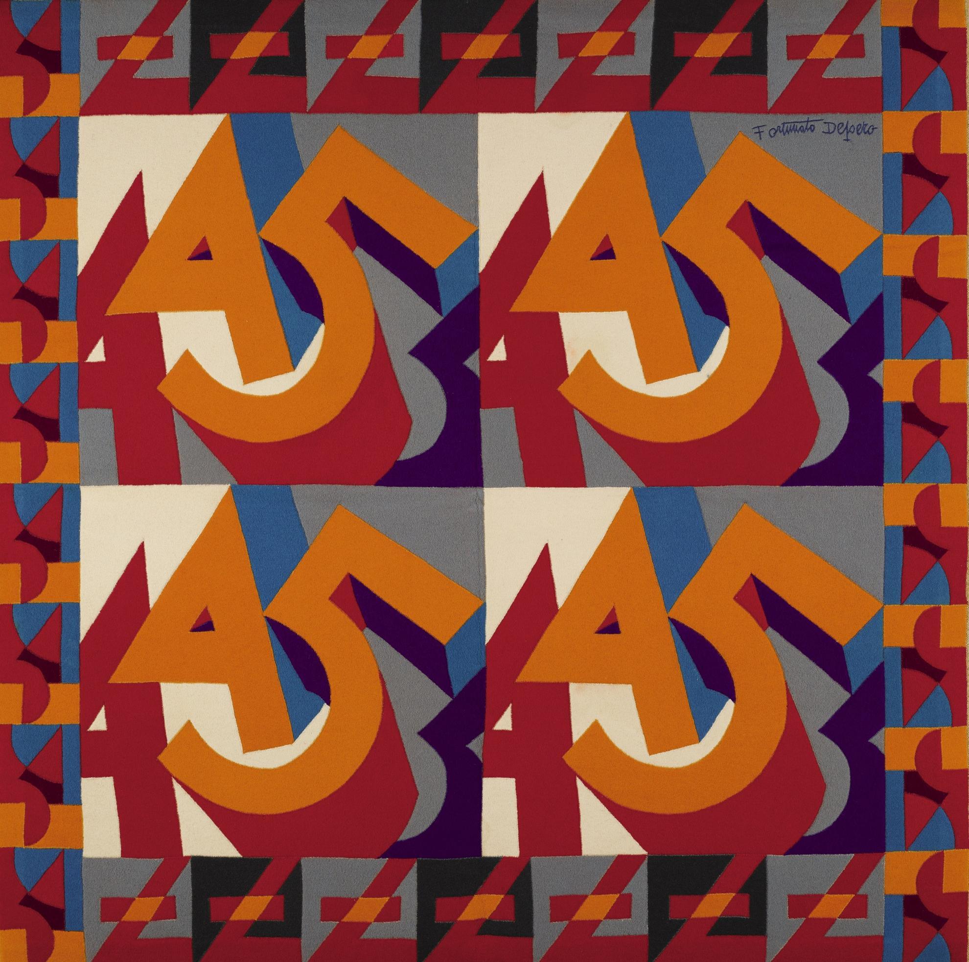 Fortunato Depero-Cifre 44-55-1925