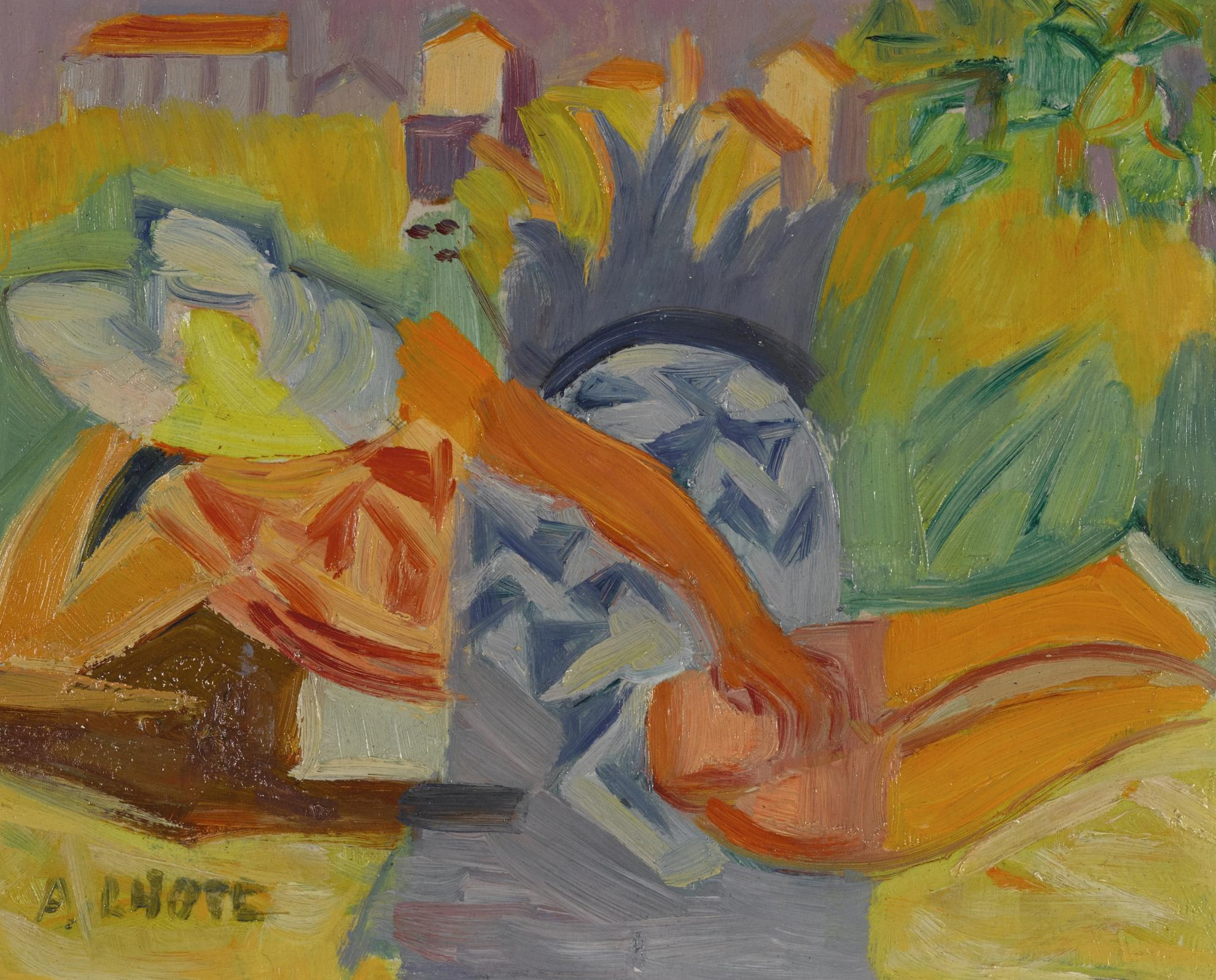 Andre Lhote-La Sieste-1942