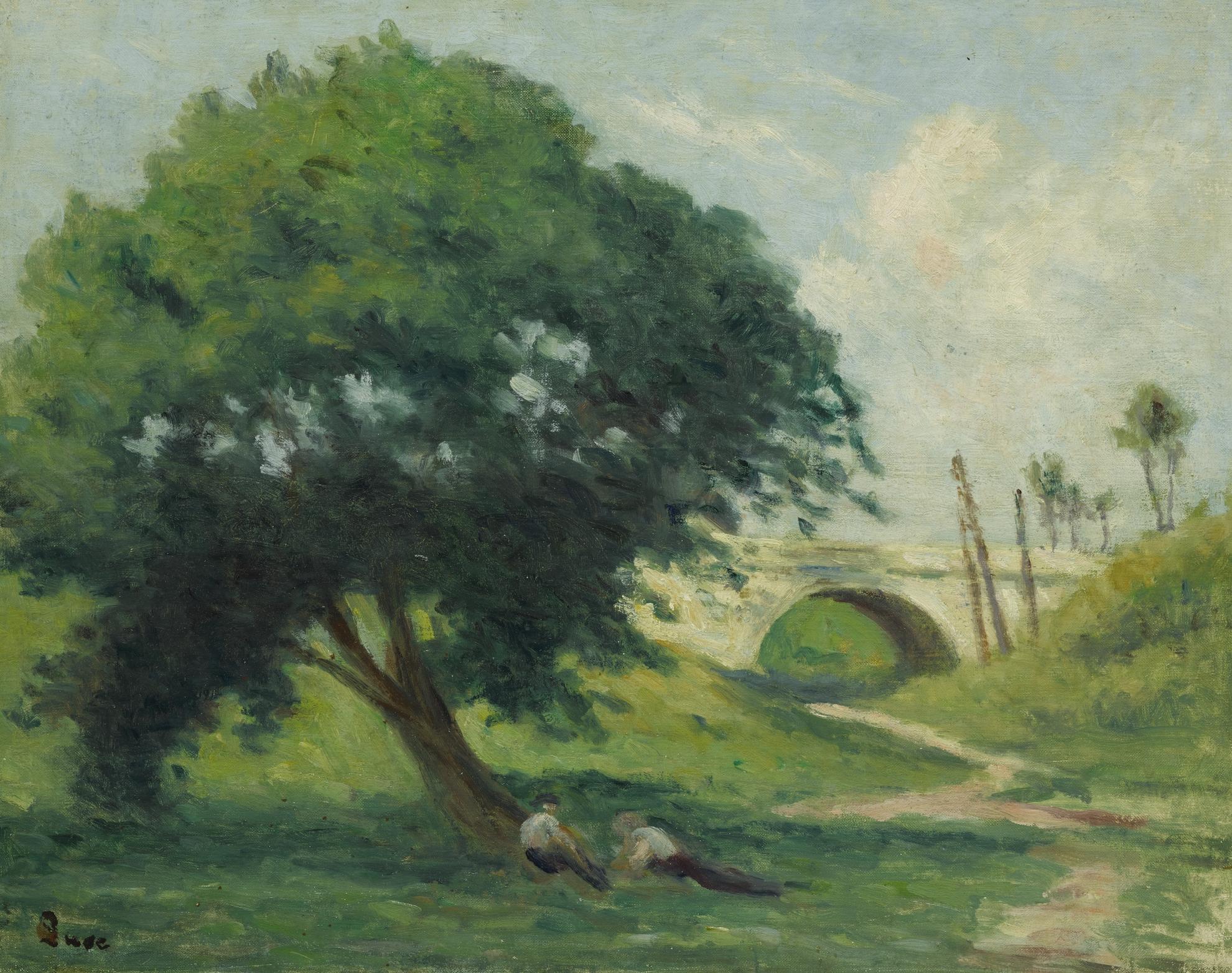 Maximilien Luce-Paysage Pres De Rolleboise-1930