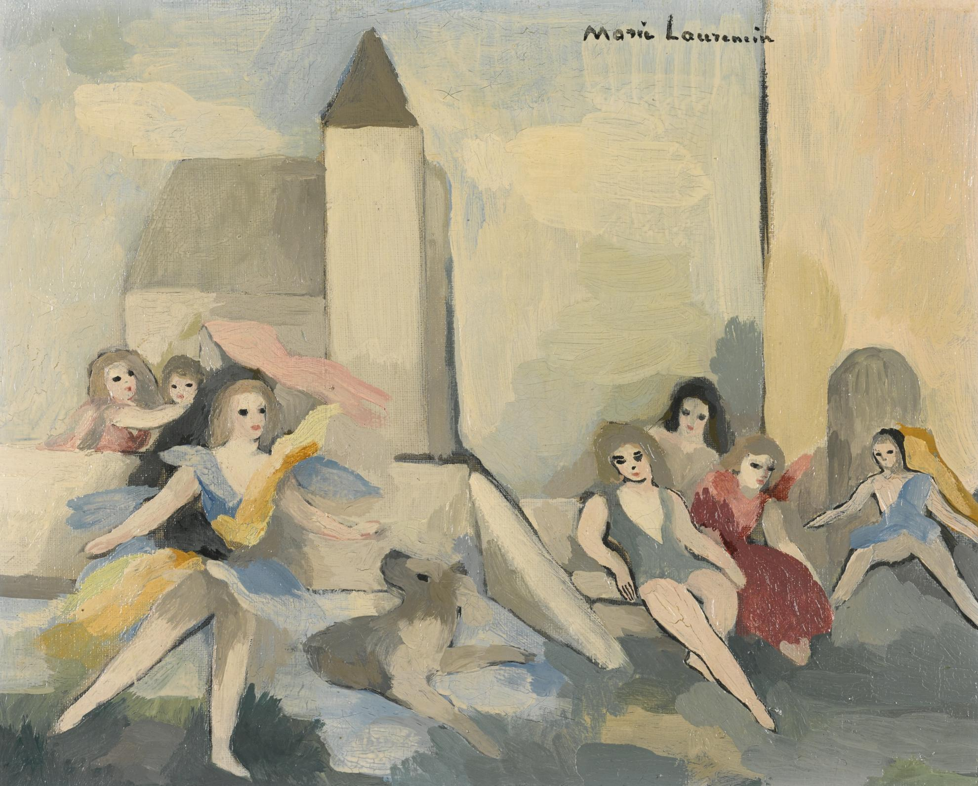 Marie Laurencin-Jeux Denfants-