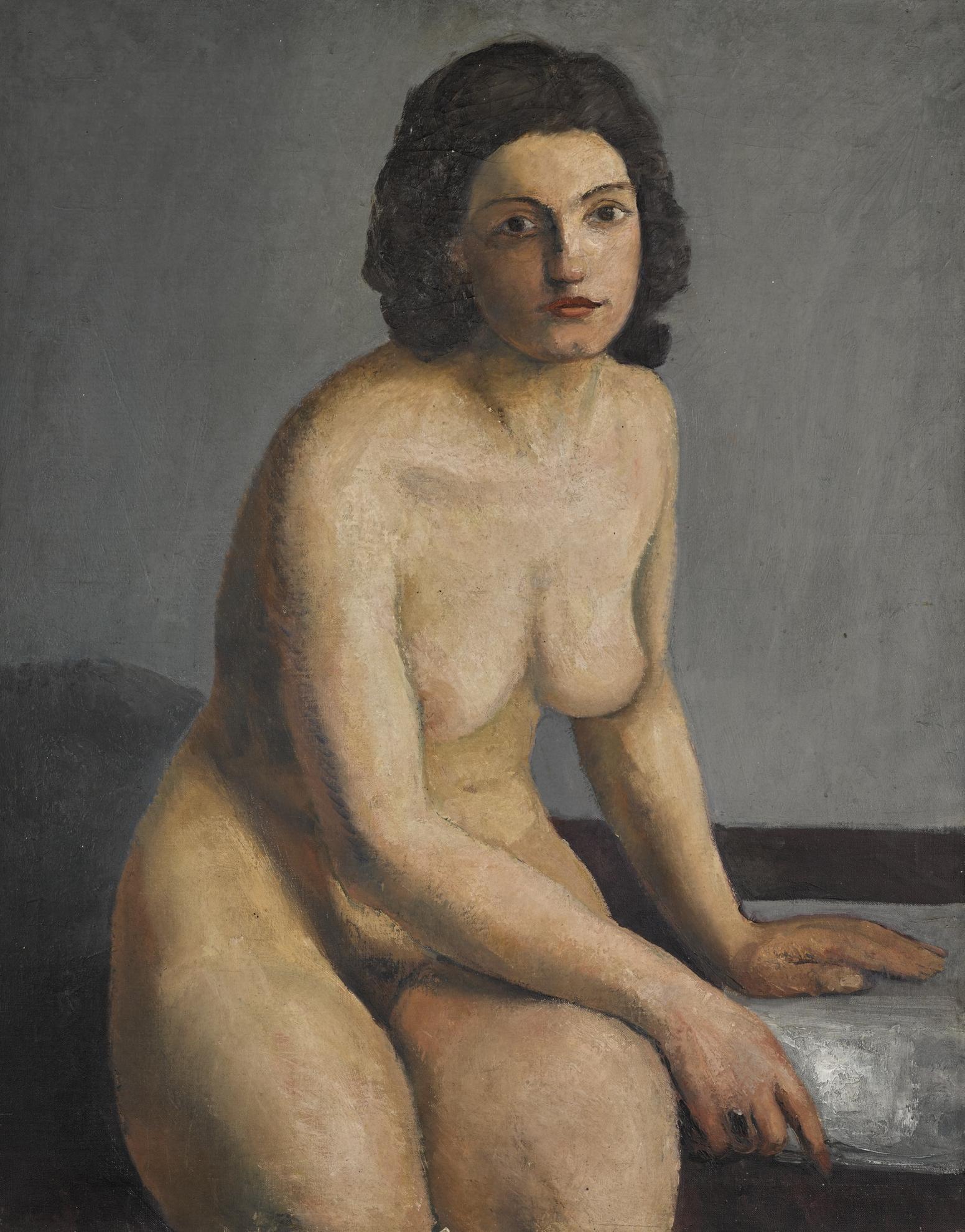Andre Derain-Le Modele-1925
