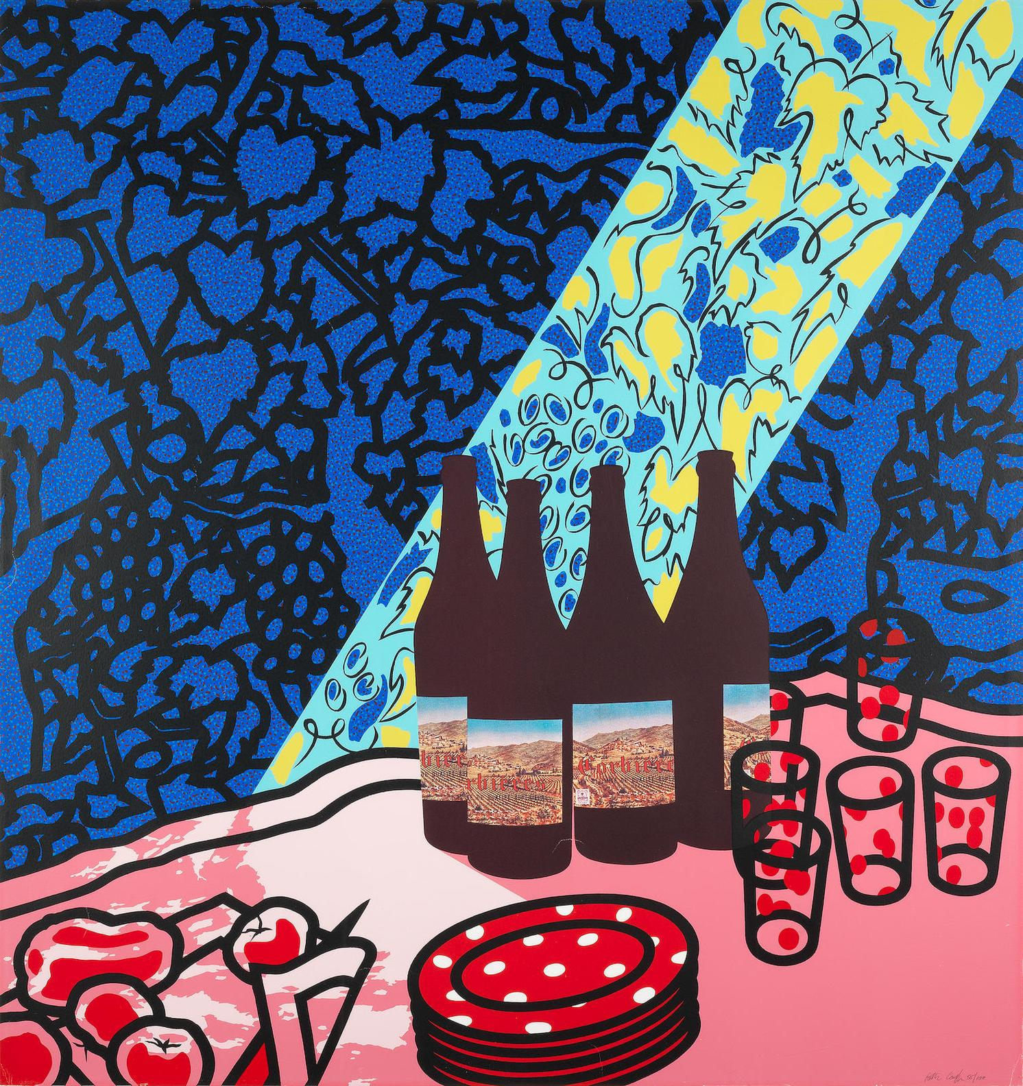 Patrick Caulfield-Picnic Set (Cristea 56)-1978