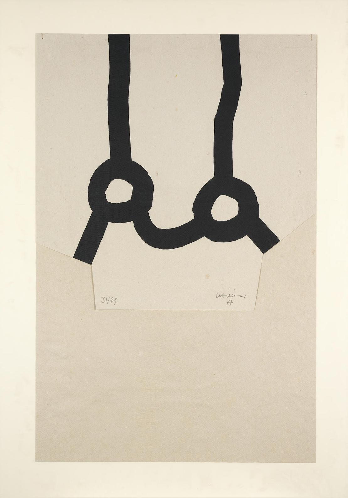 Eduardo Chillida-Homenaje A Joan Prats (Koelen 87020)-1987