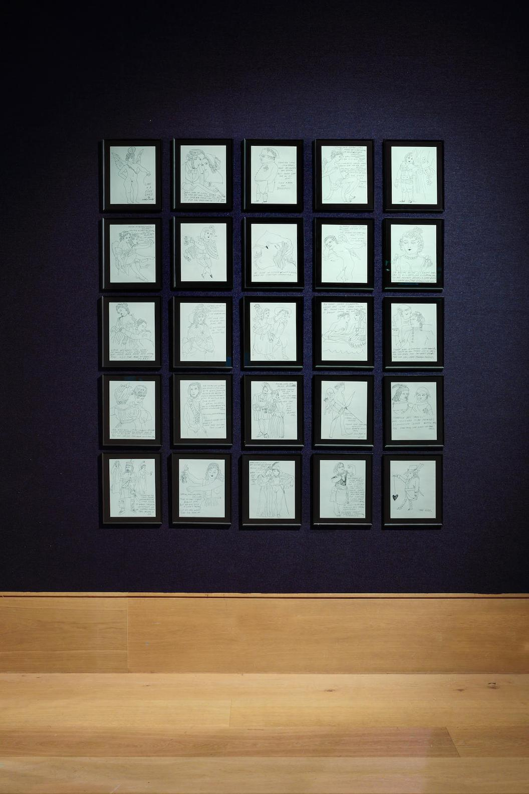 Andy Warhol-Love Is A Pink Cake (Feldman & Schellmann IV.27-50)-1953