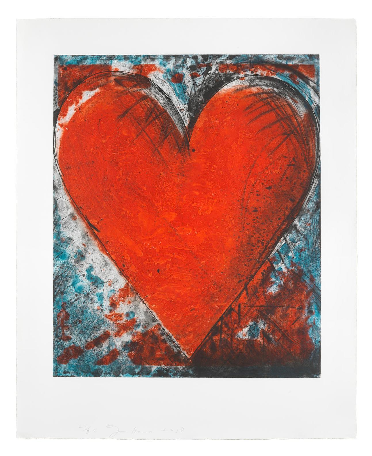 Jim Dine-Red Stamp-2010