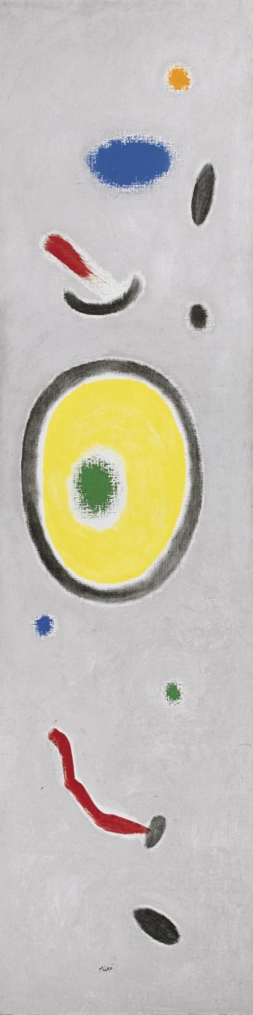 Joan Miro-Le Reveil Des Oiseaux II-1965