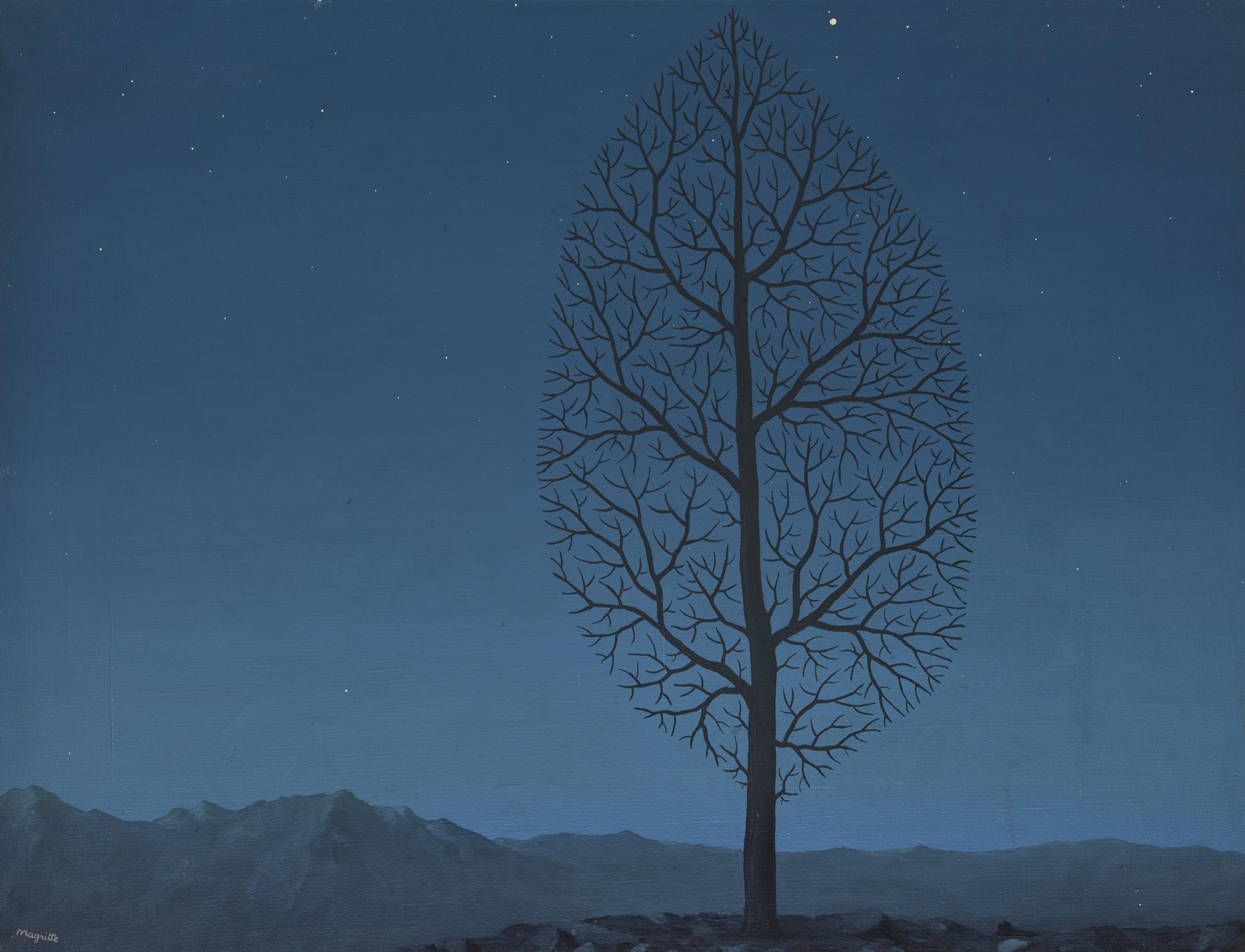 Rene Magritte-La Recherche De Labsolu-1950